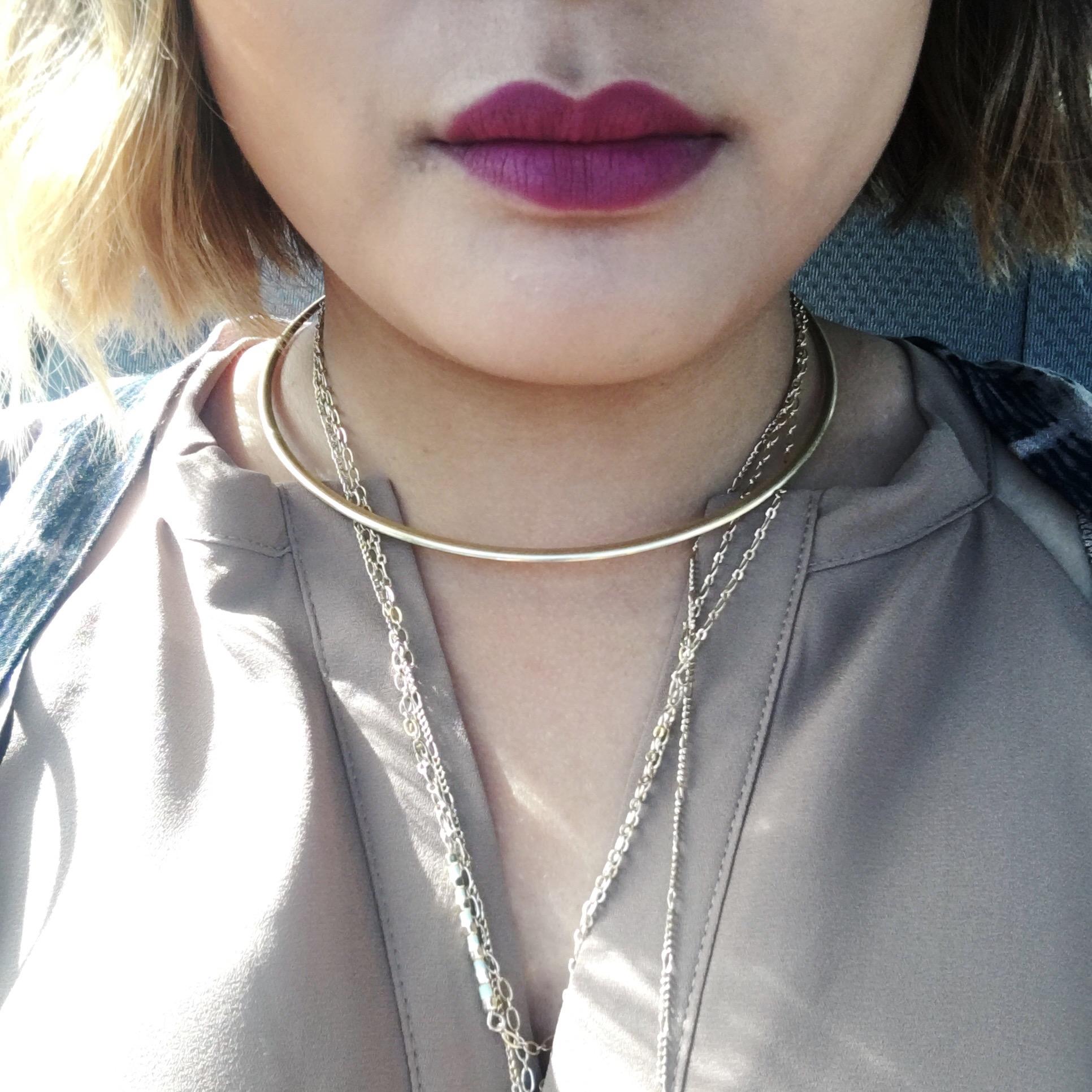 Lip Liner in Velvet Rose | Lipstick in Soft Matte Plum