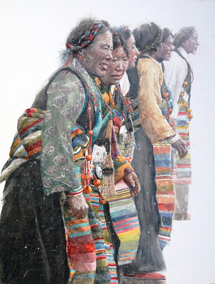 Dancer on the Tibetan Plateau.jpg