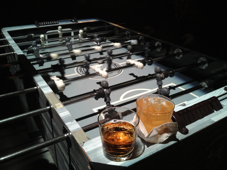 Fooseball and drinks.jpg