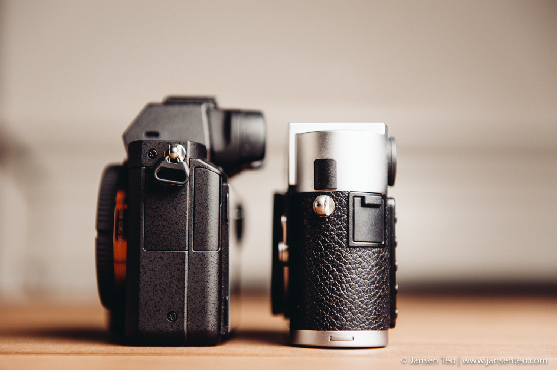 Sony A7ii vs. Leica M9-Pside comparison