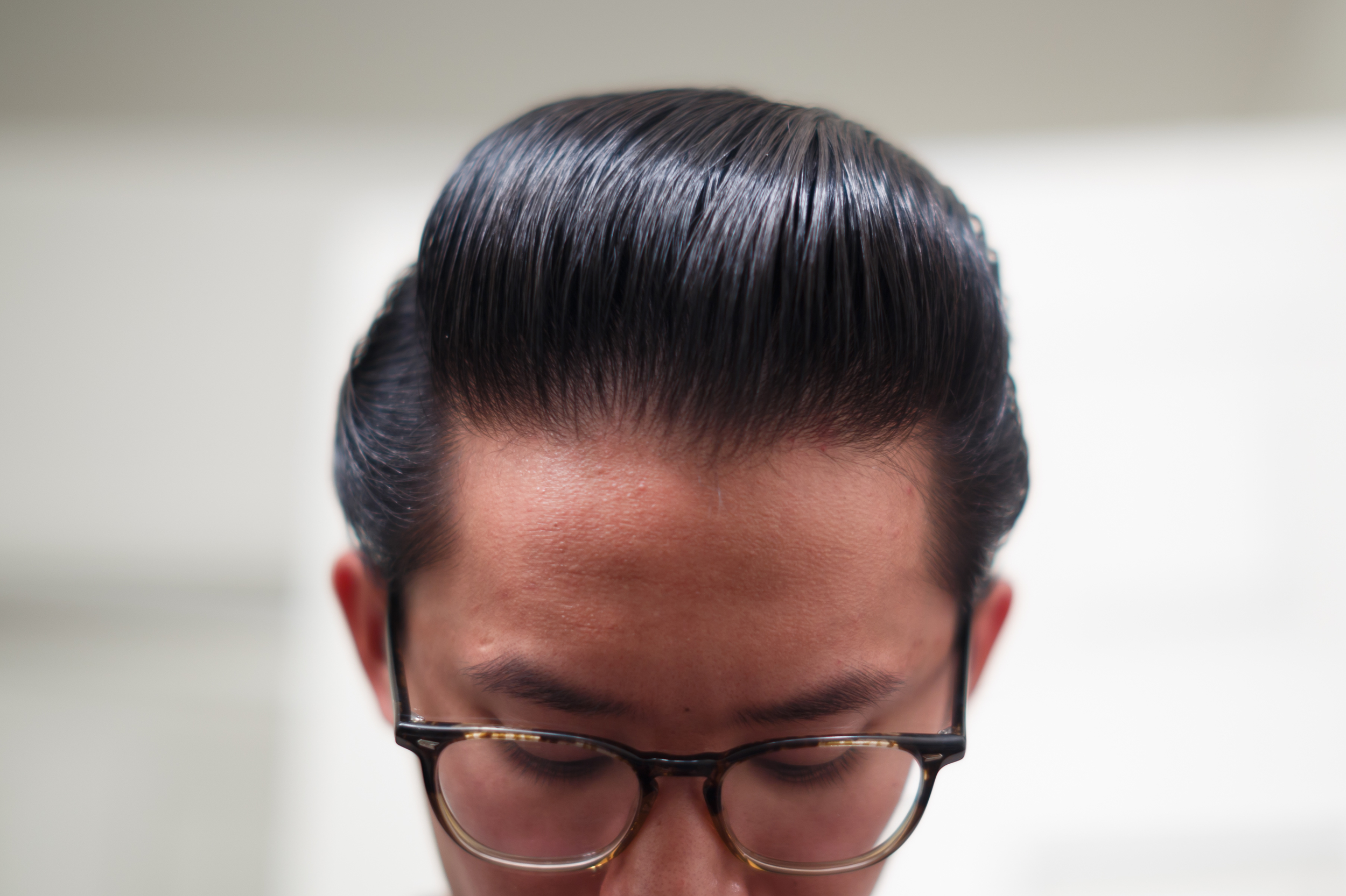Cool Grease Blue Pomade pomp