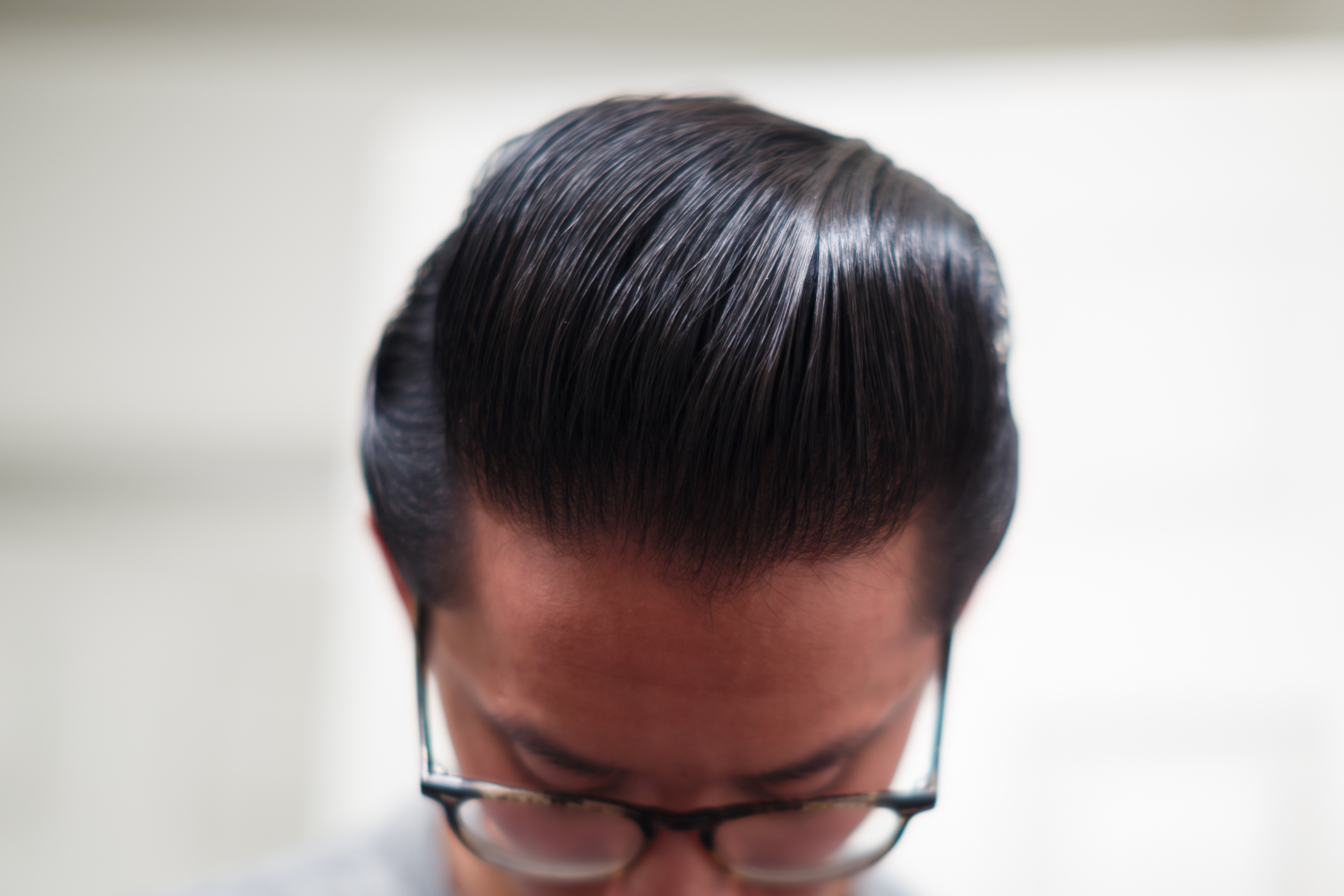 Cool Grease Blue Pomade shine