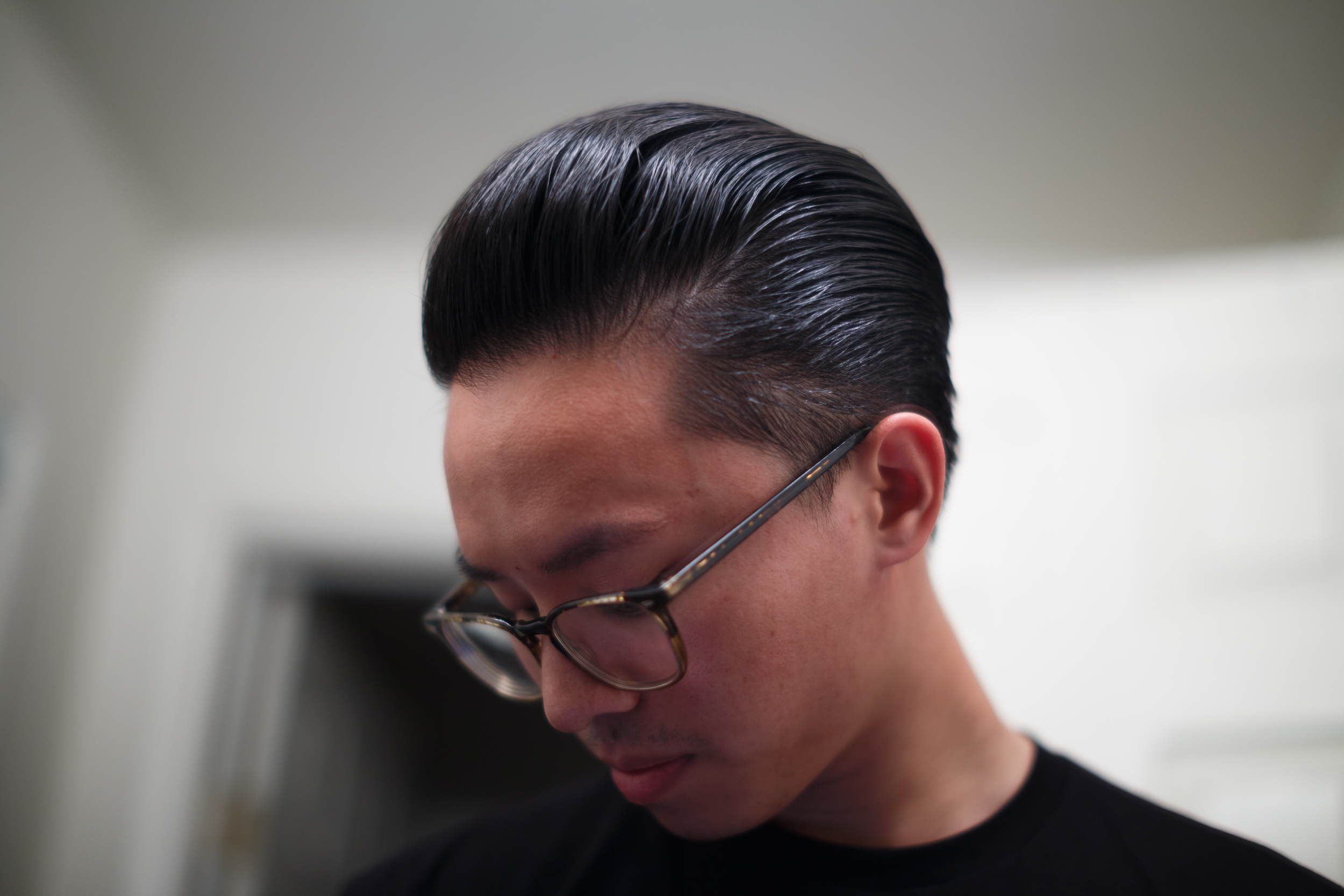 Cool Grease XX Pomade final shine