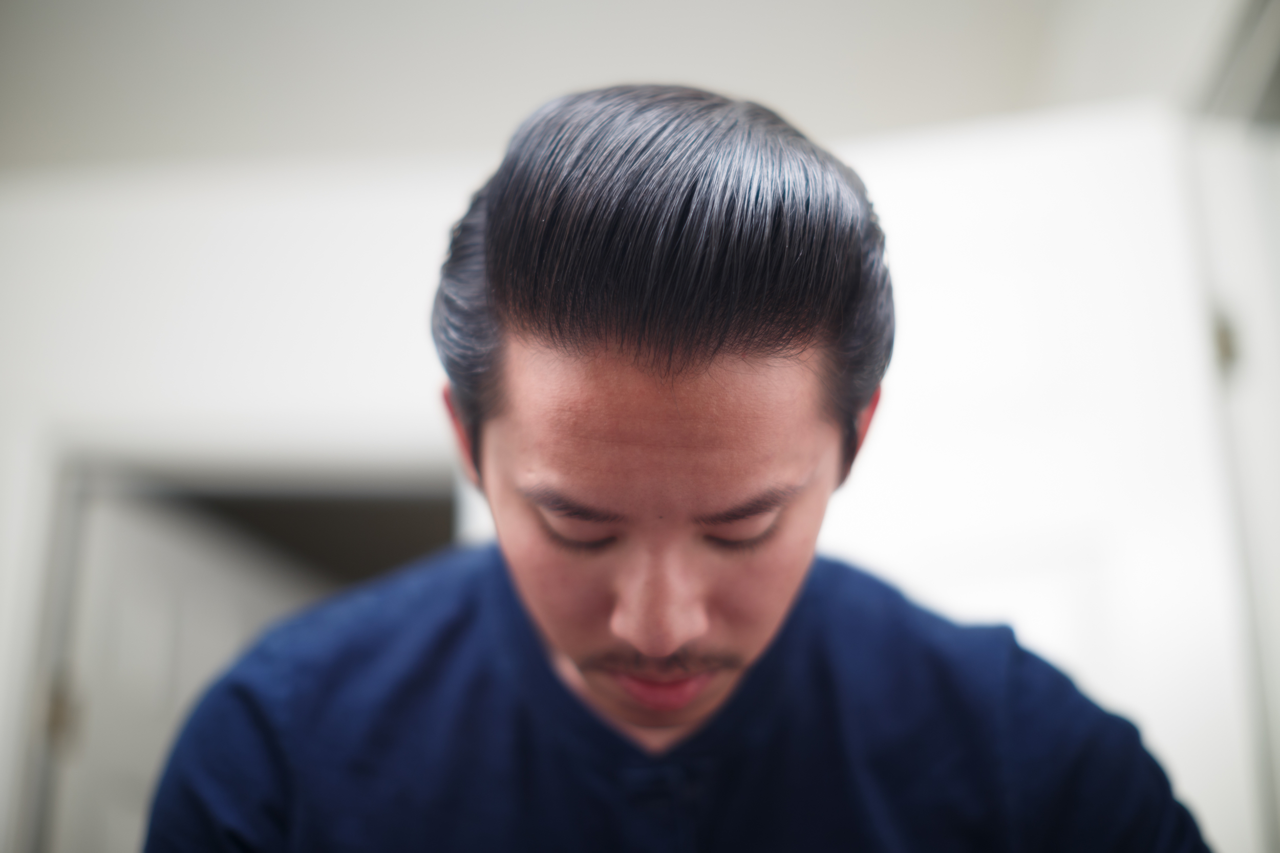 Cool Grease Z Pomade final shine