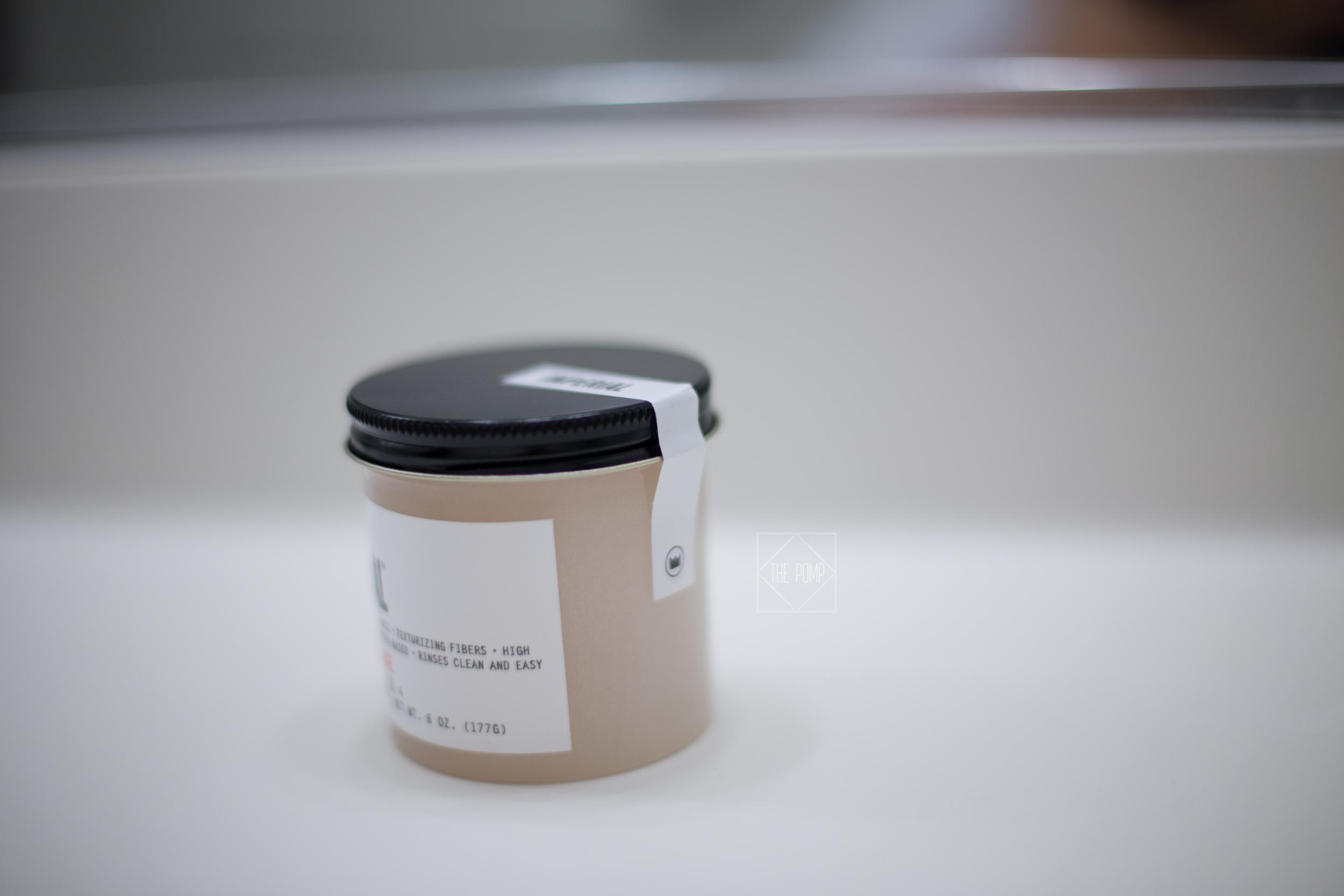 Imperial Fiber Pomade packaging