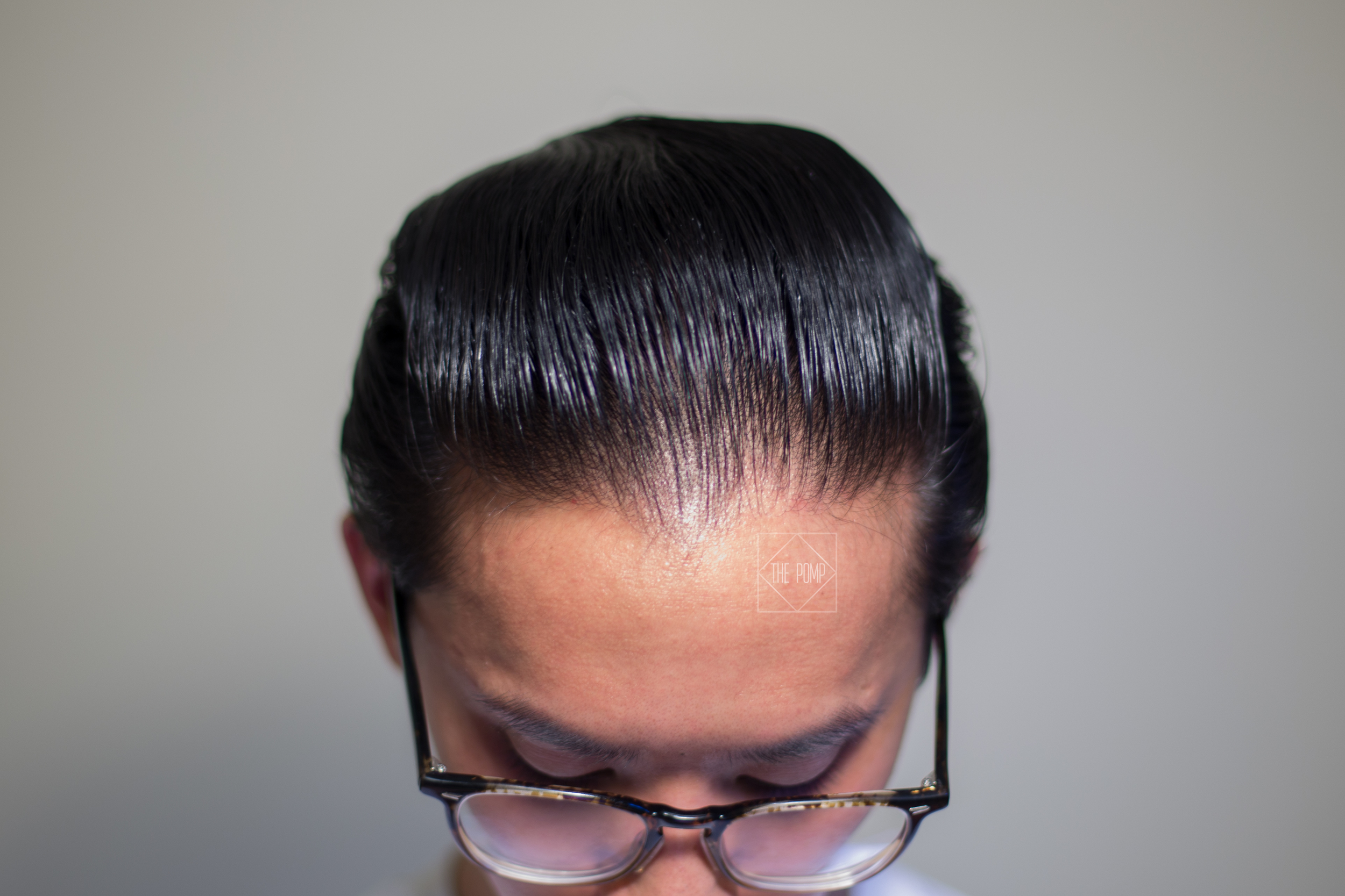 Crownes & Combes Premium Pomade final shine