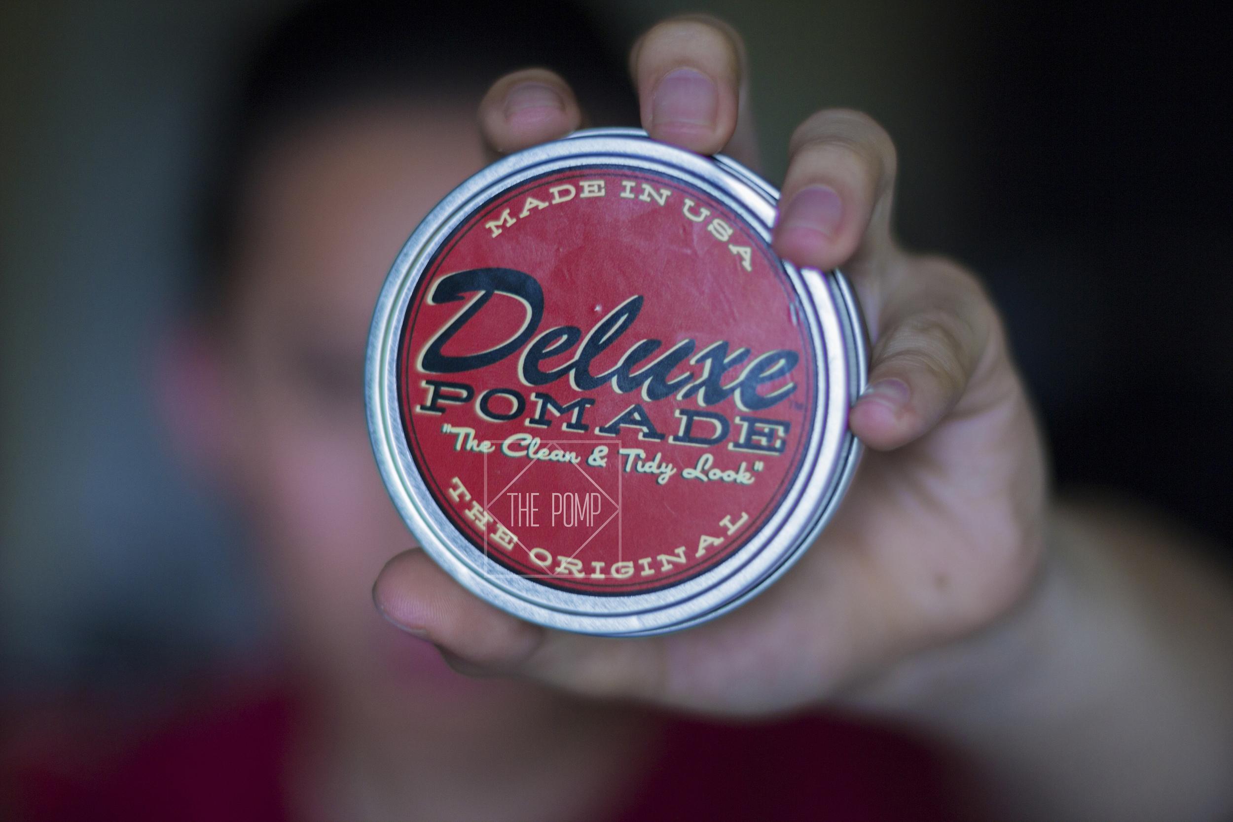 Deluxe Pomade jar