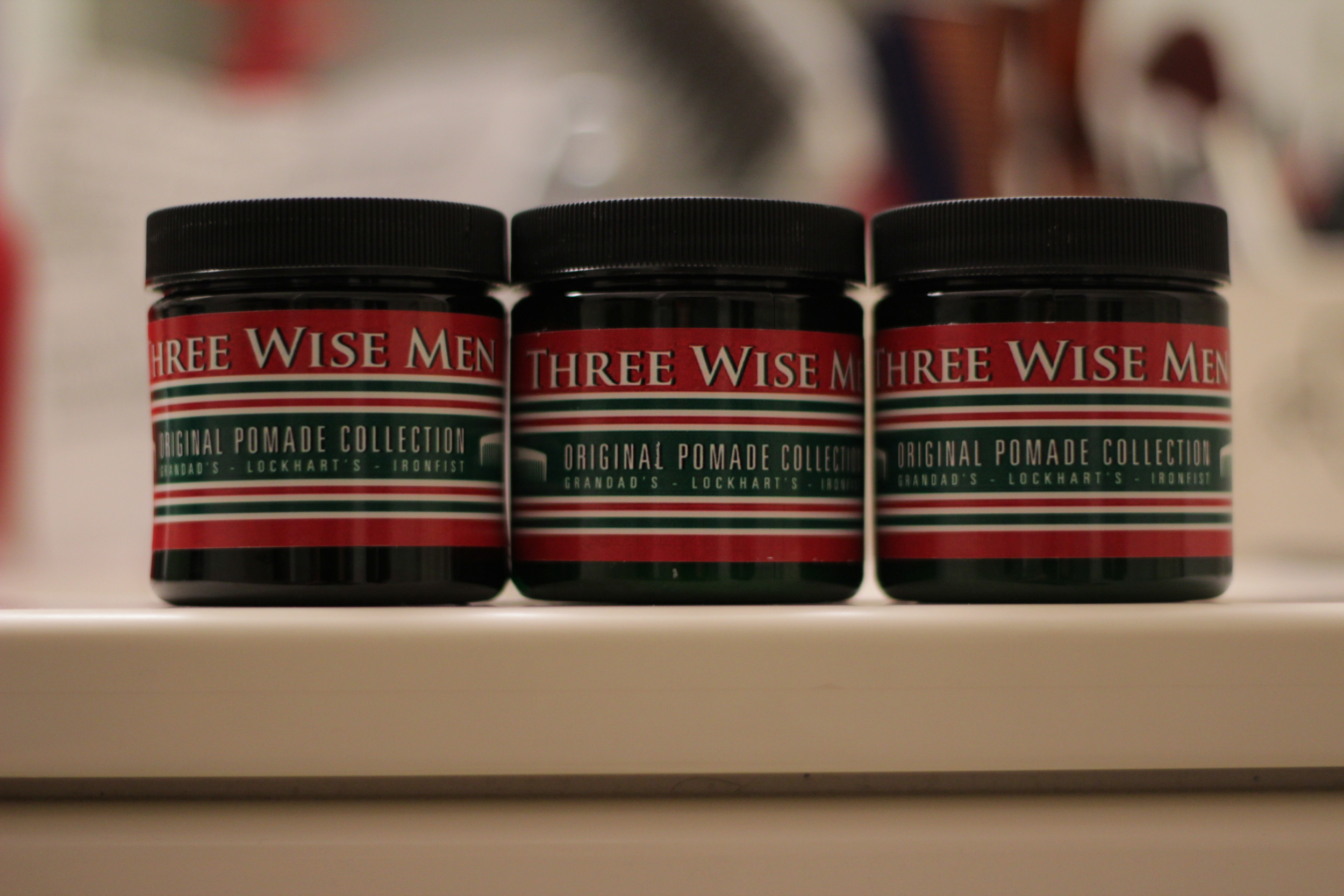 Three Wise Men Ironfist Lightweight Pomade jar