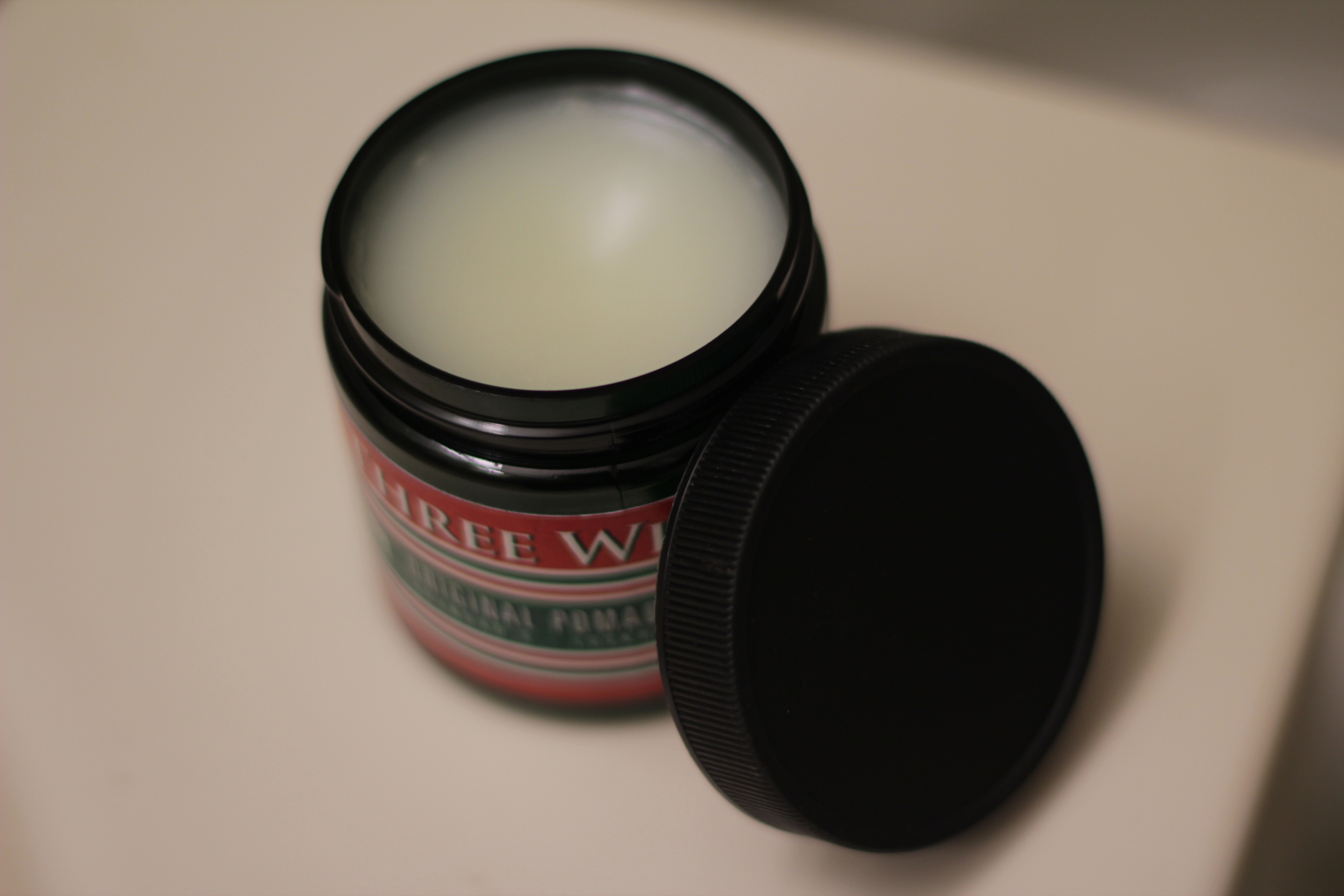 Three Wise Men Ironfist Lightweight Pomade texture
