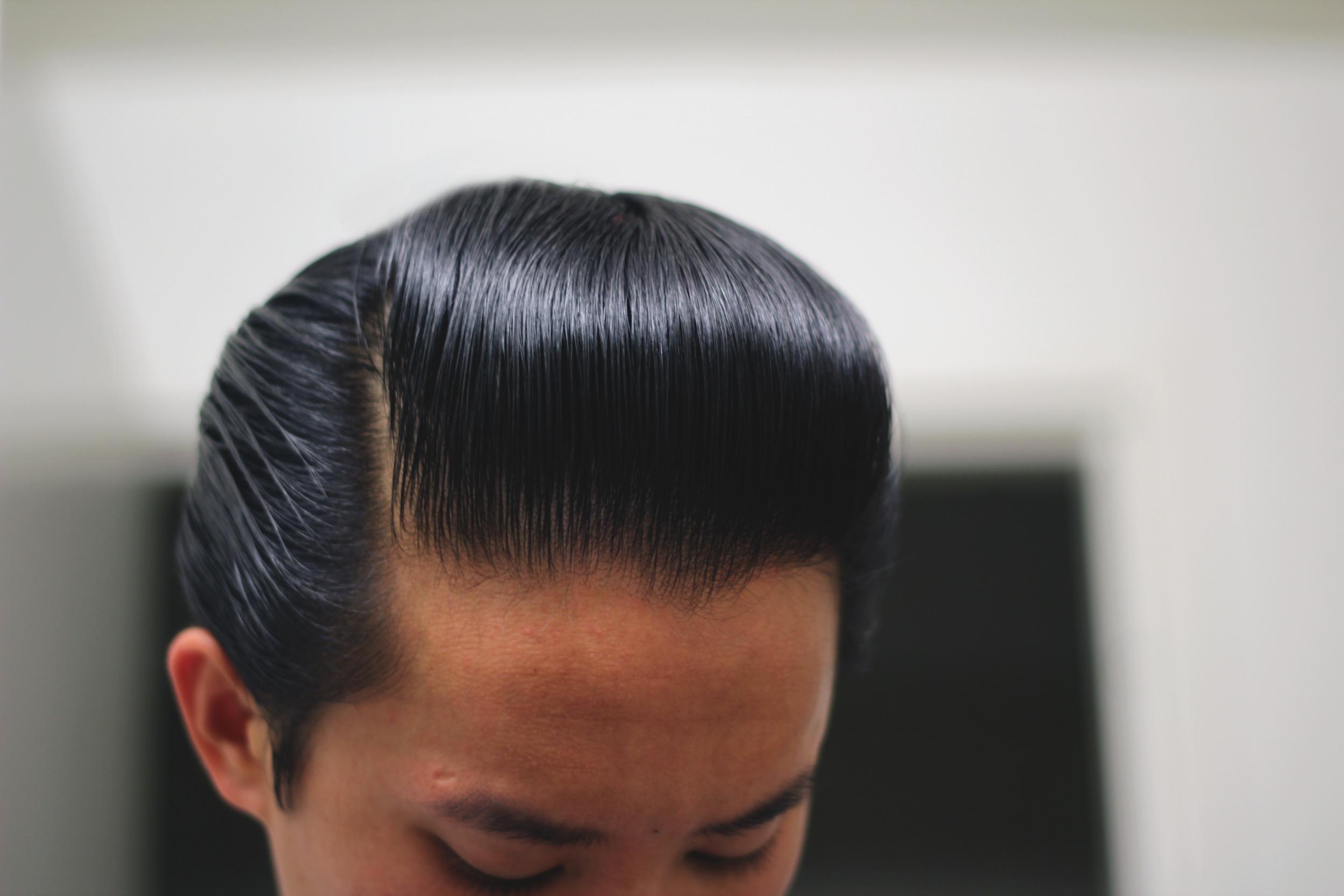 Taylor of Old Bond Street Hair Wax part