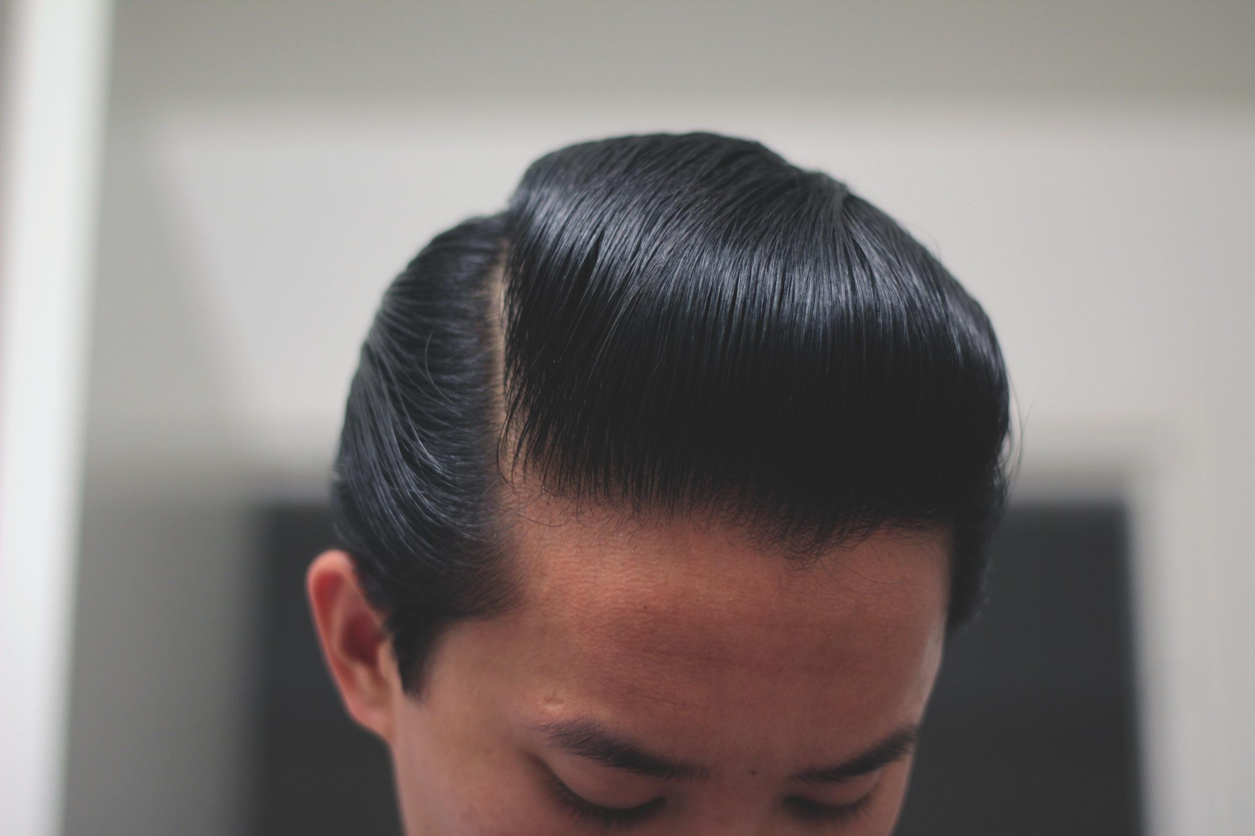 Black & White Hair Dressing Pomade - part