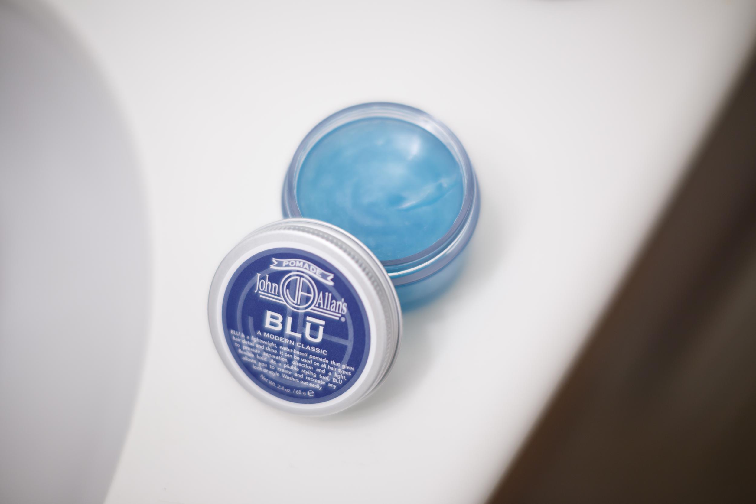 John Allan's Blu Pomade texture
