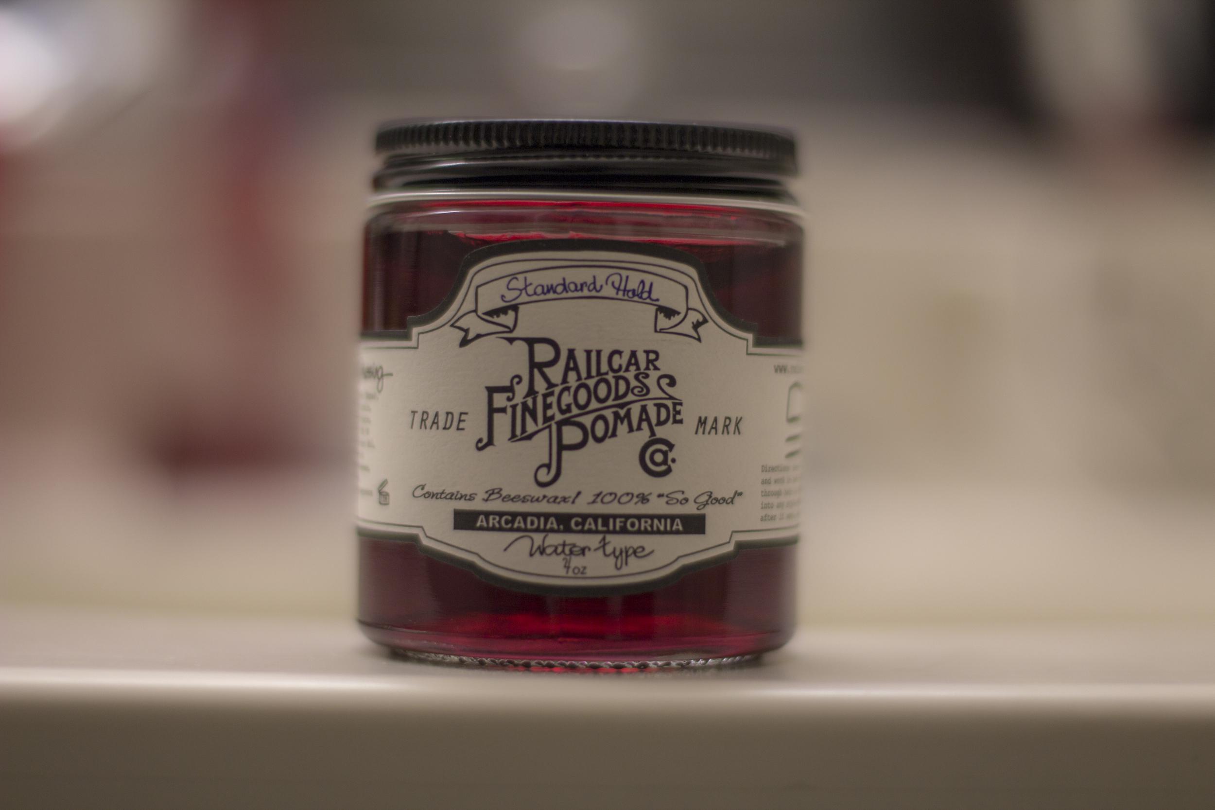 Railcar Finegoods Pomade jar
