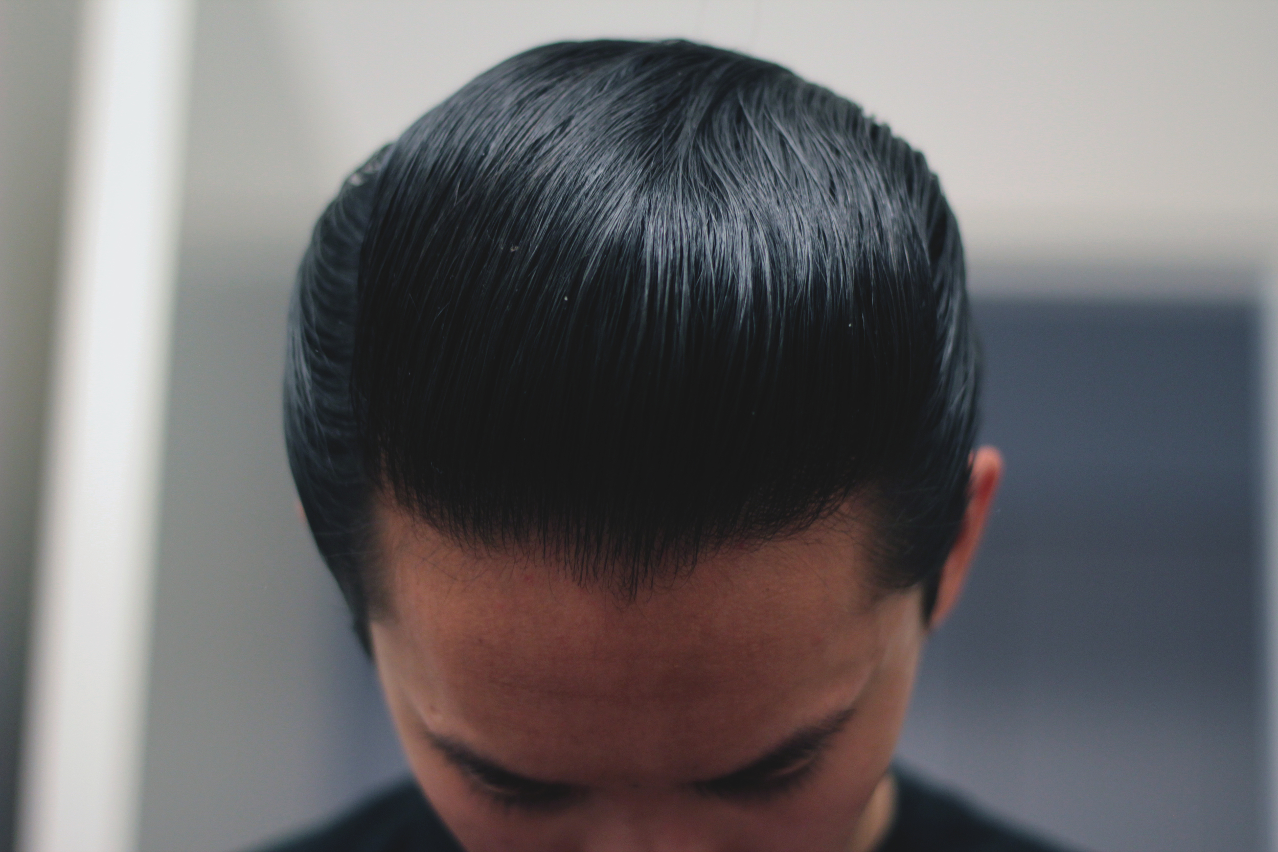 Layrite Deluxe Pomade pompadour top