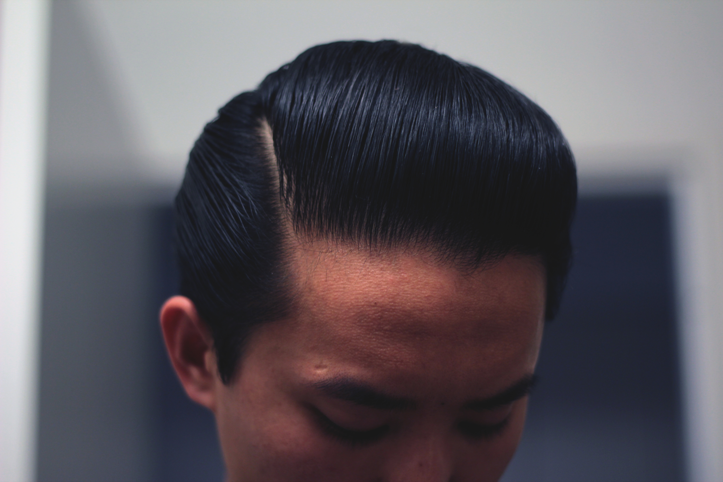 Layrite Deluxe Pomade pompadour part