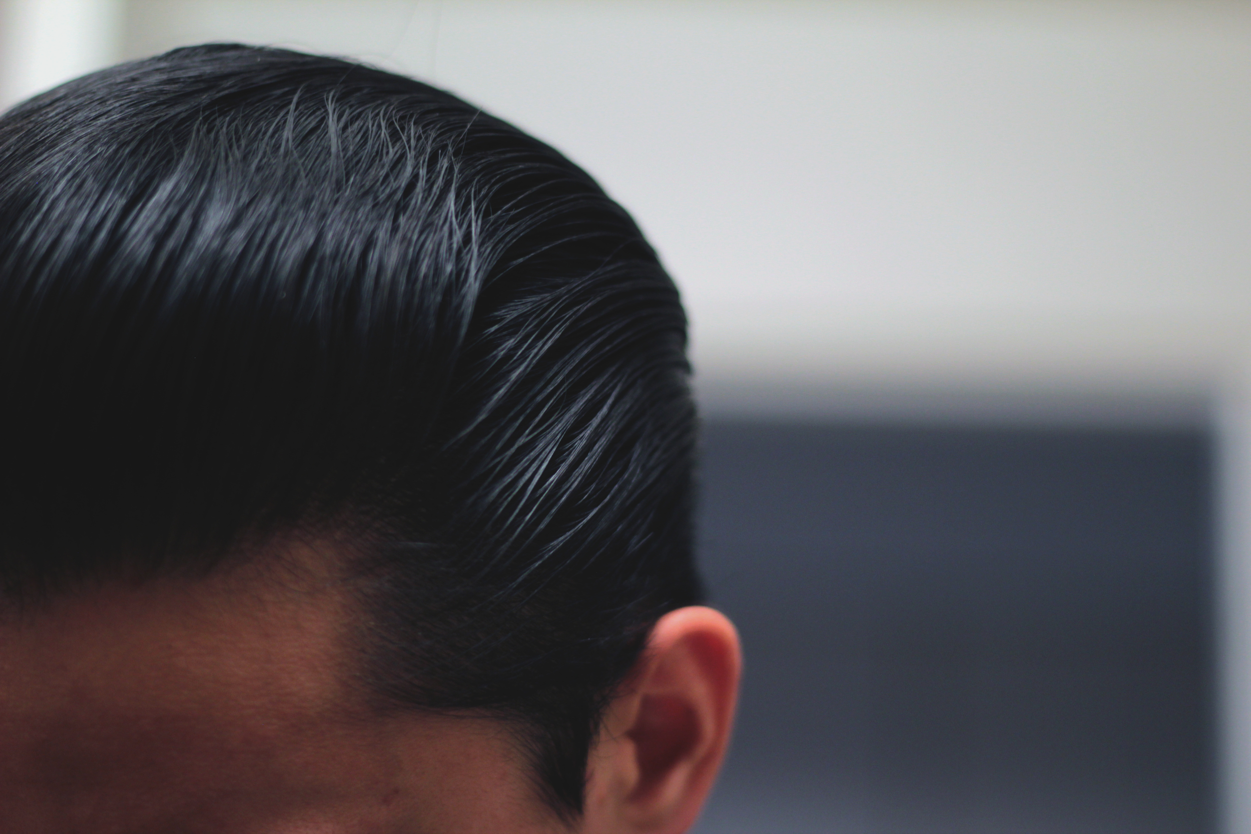 Layrite Deluxe Pomade pompadour slickness
