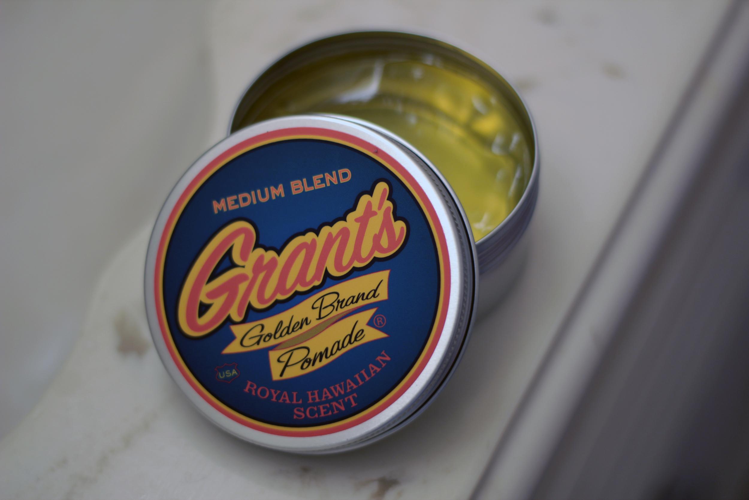 grant's golden brand medium blend inside