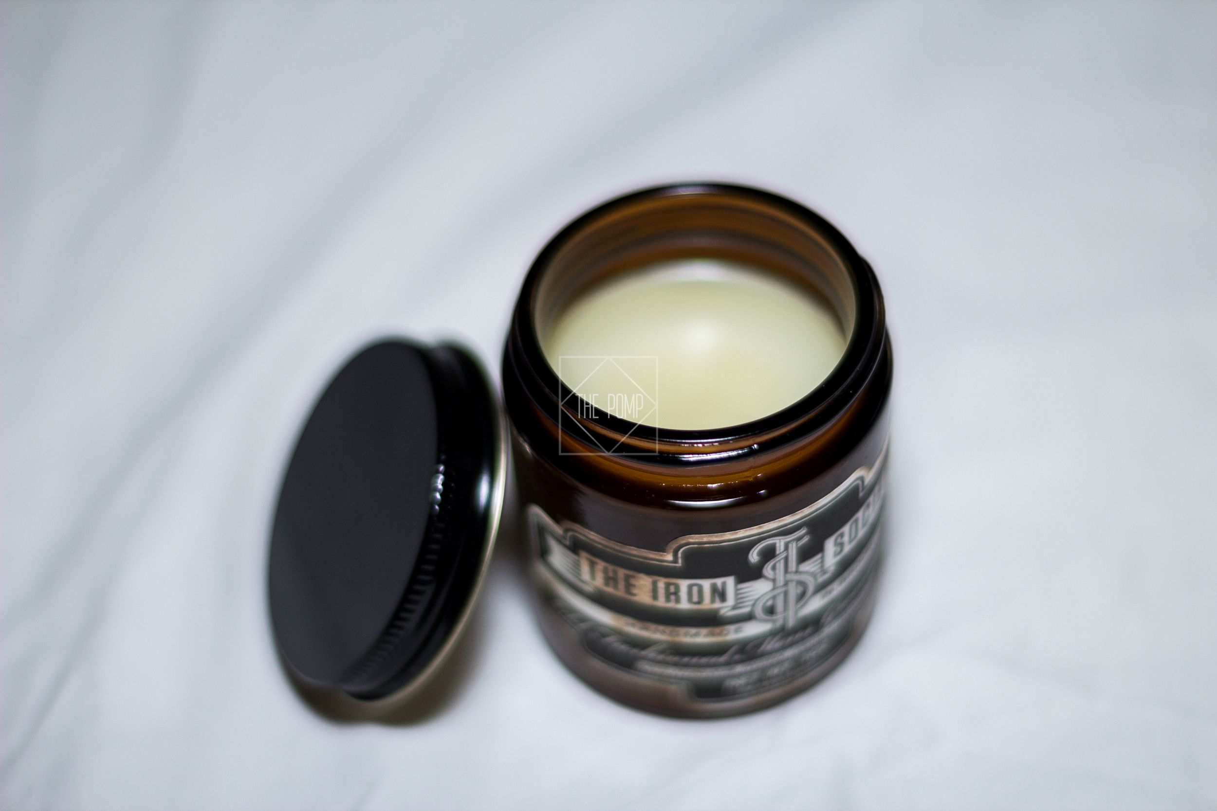 The Iron Society Firm Hold Pomade texture