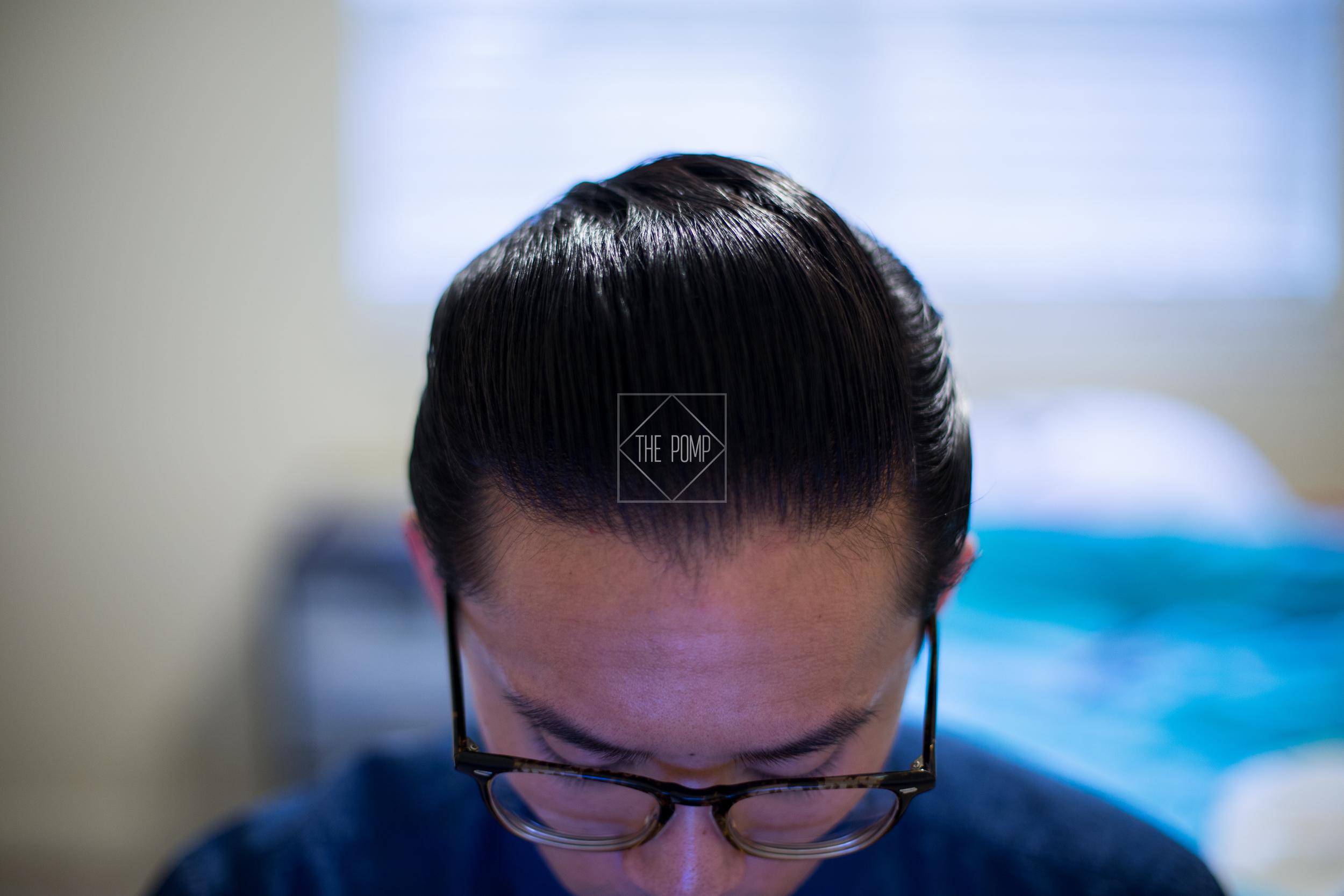 The Iron Society Firm Hold Pomade shine