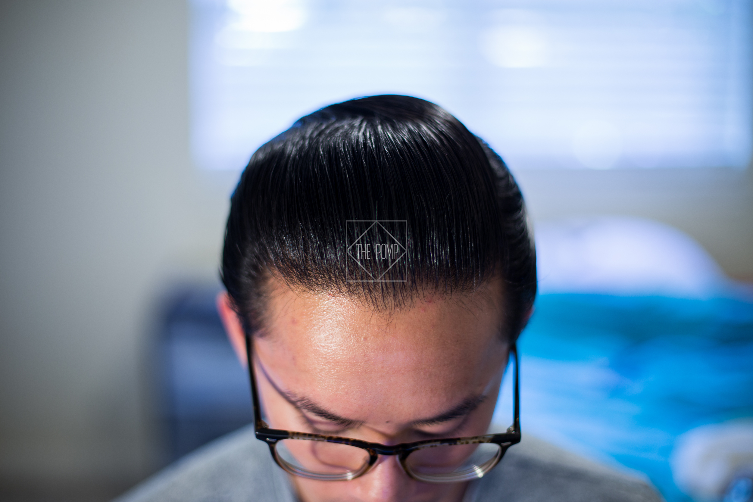 The Iron Society Firm Hold Pomade final shine