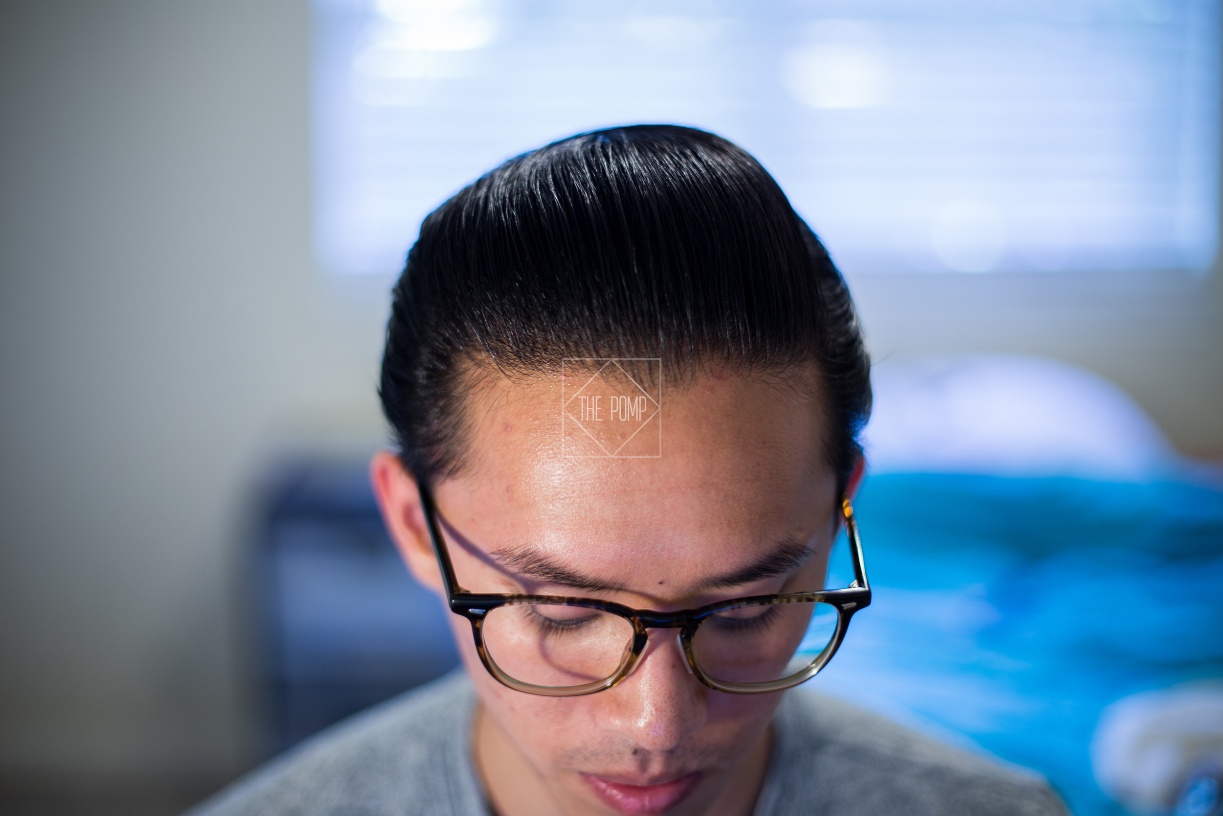 The Iron Society Firm Hold Pomade final pomp
