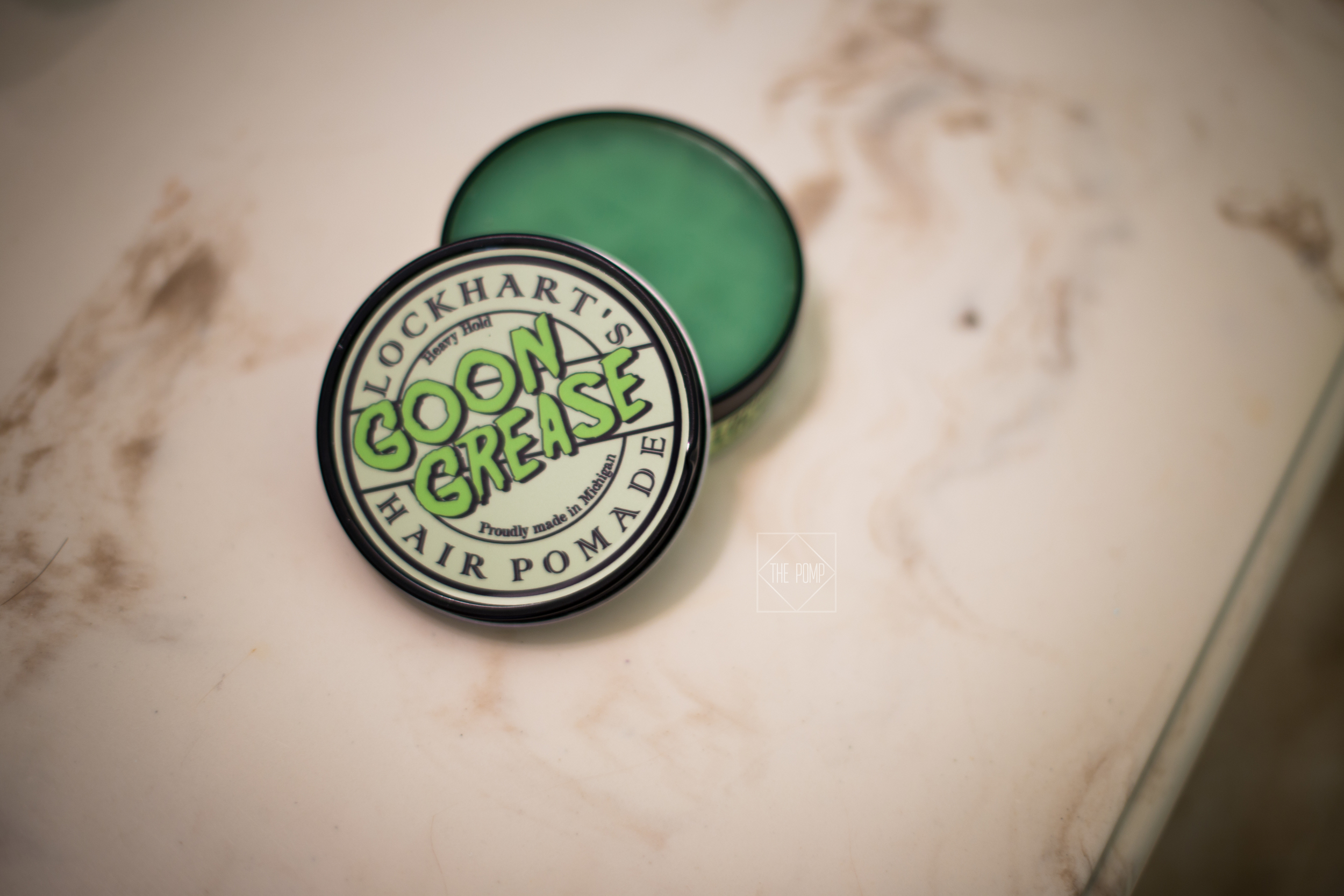 lockhart's goon grease hair pomade - jar