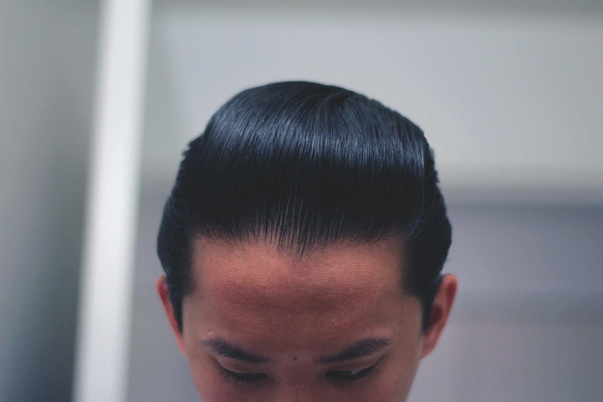 lockhart's goon grease hair pomade - pomp front