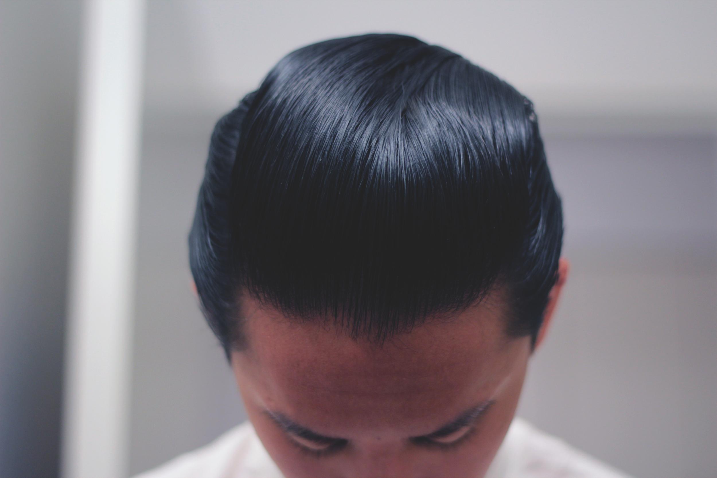 lockhart's goon grease hair pomade - pomp top