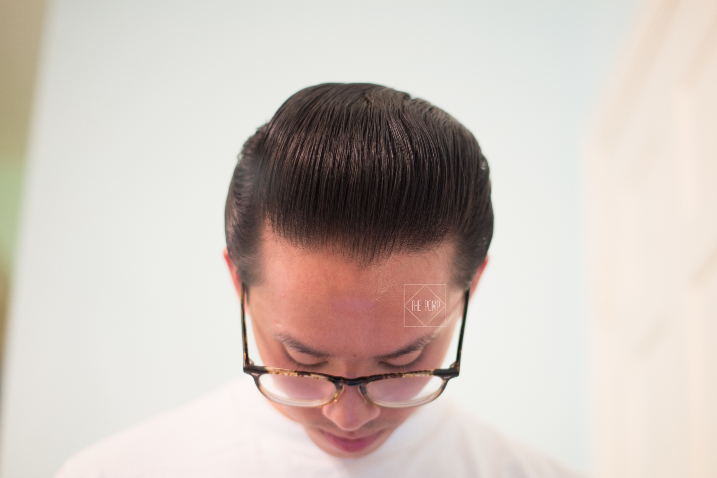 The Daimon Barber Hair Pomade No.2 final slickness