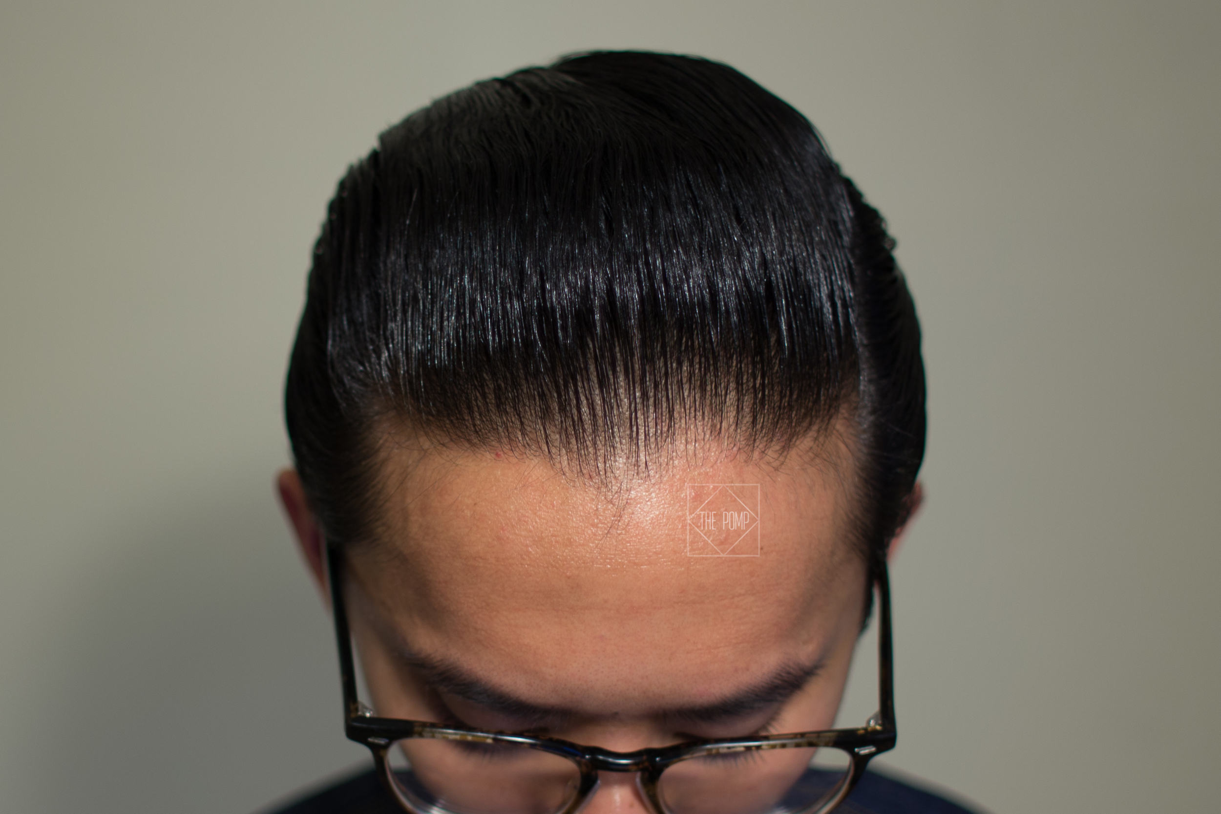 The Mail Room Barber Pomade shine