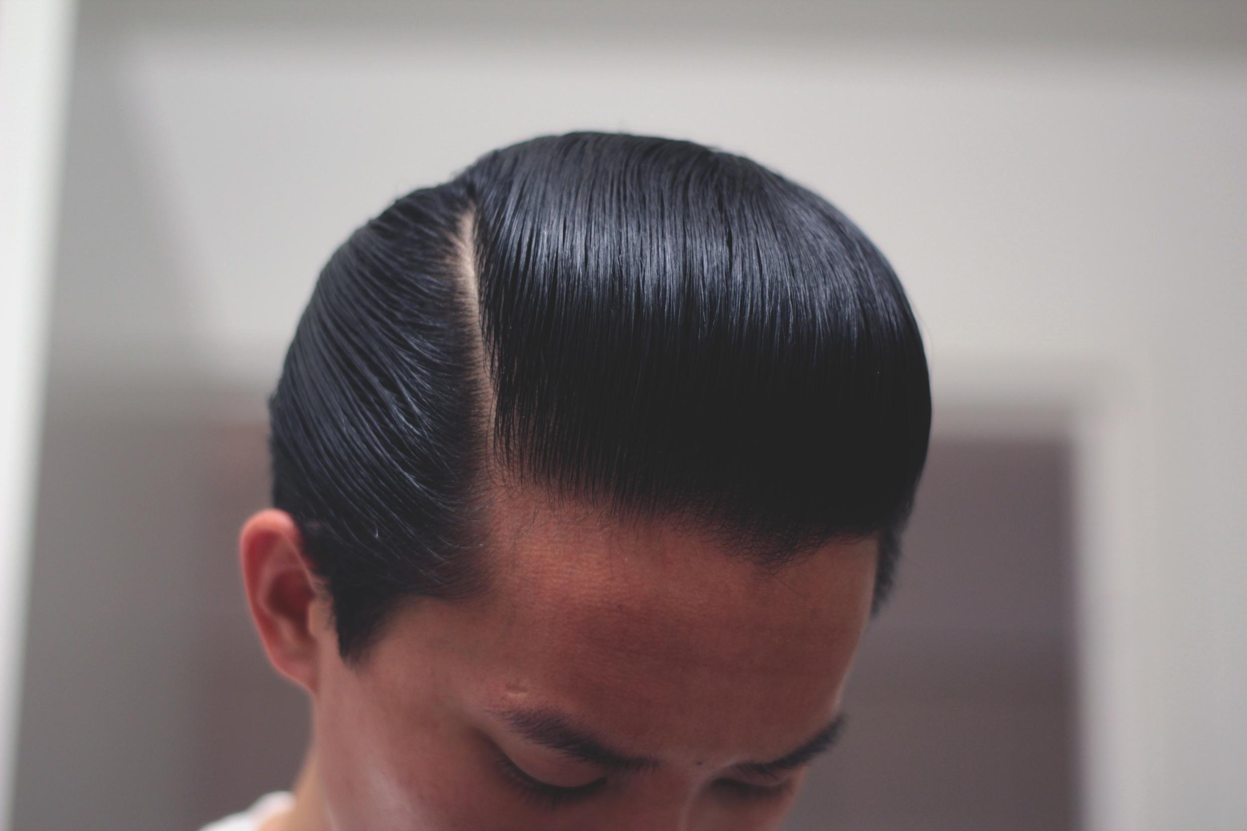 Lockhart's Authentic Hair Pomade Medium Hold - pomp part