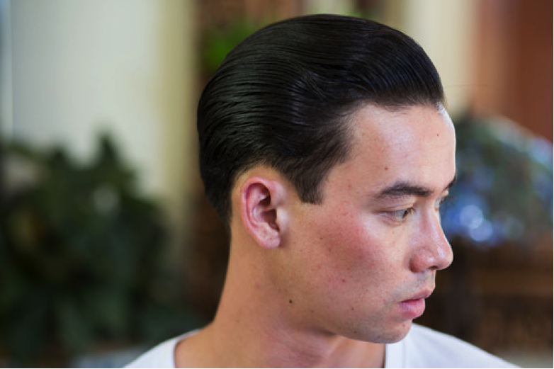 Murray's Superior Hair Dressing Pomade slickness