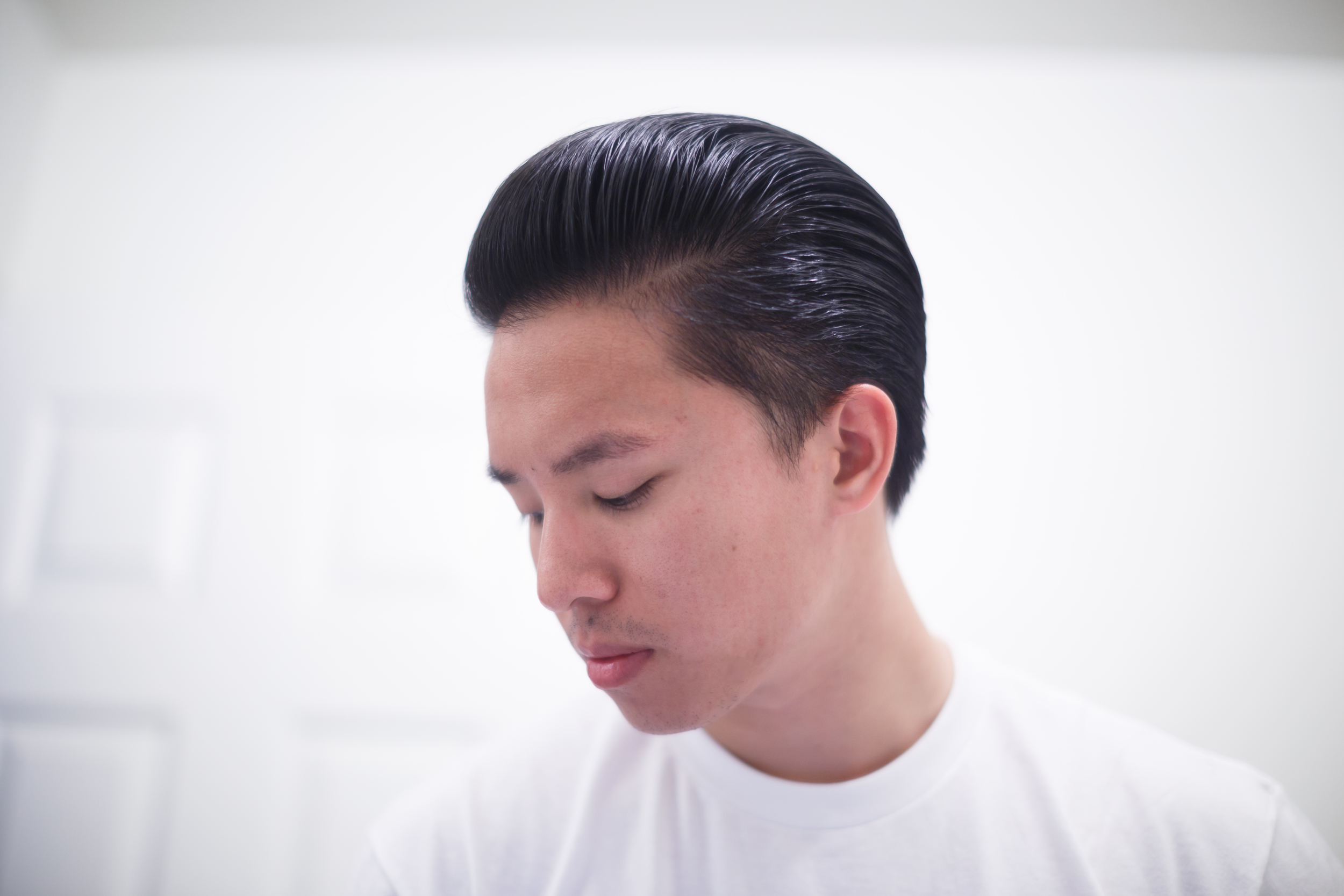 Byrd 'The Free' Light Pomade slickness