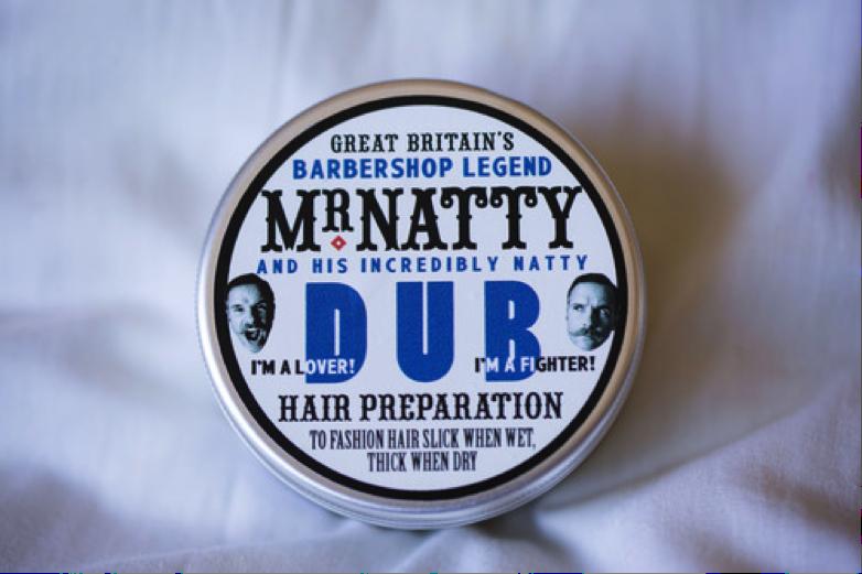 Mr Natty Dub Hair Preparation jar