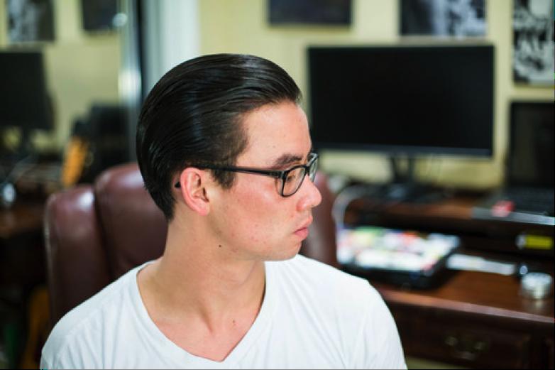 Mr Natty Dub Hair Preparation final slickness