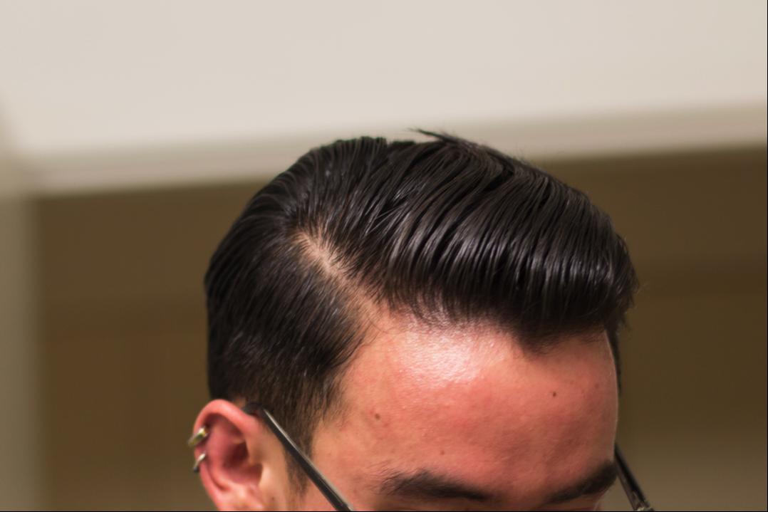 Mister Pompadour Classic Wax shine