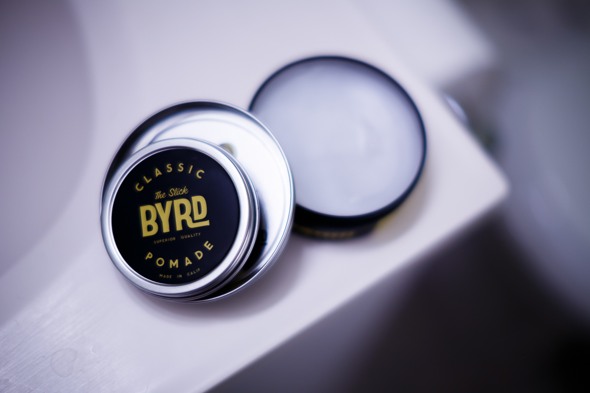 Byrd 'The Slick' Classic Pomade texture