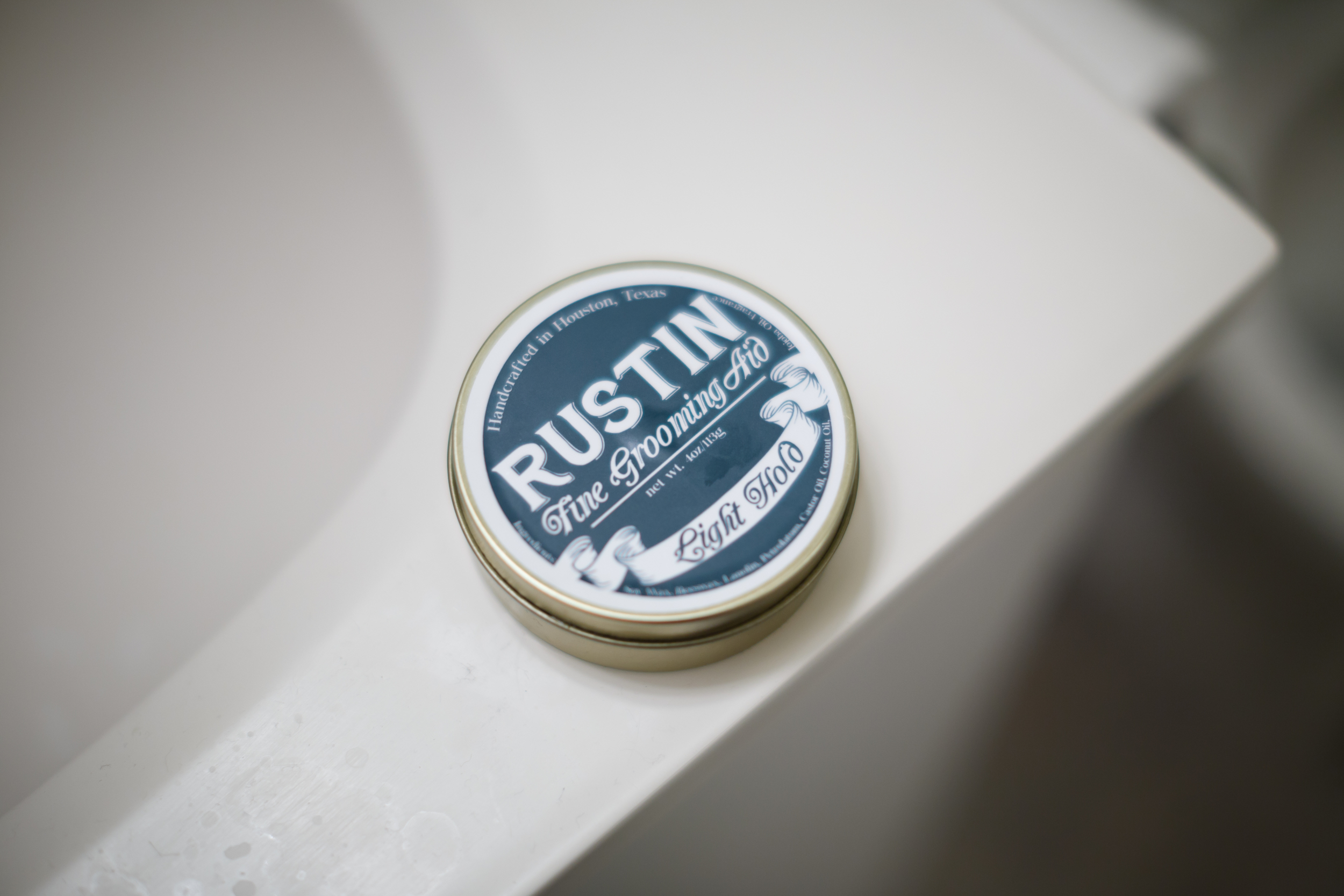 Rustin Light Hold Pomade Jar