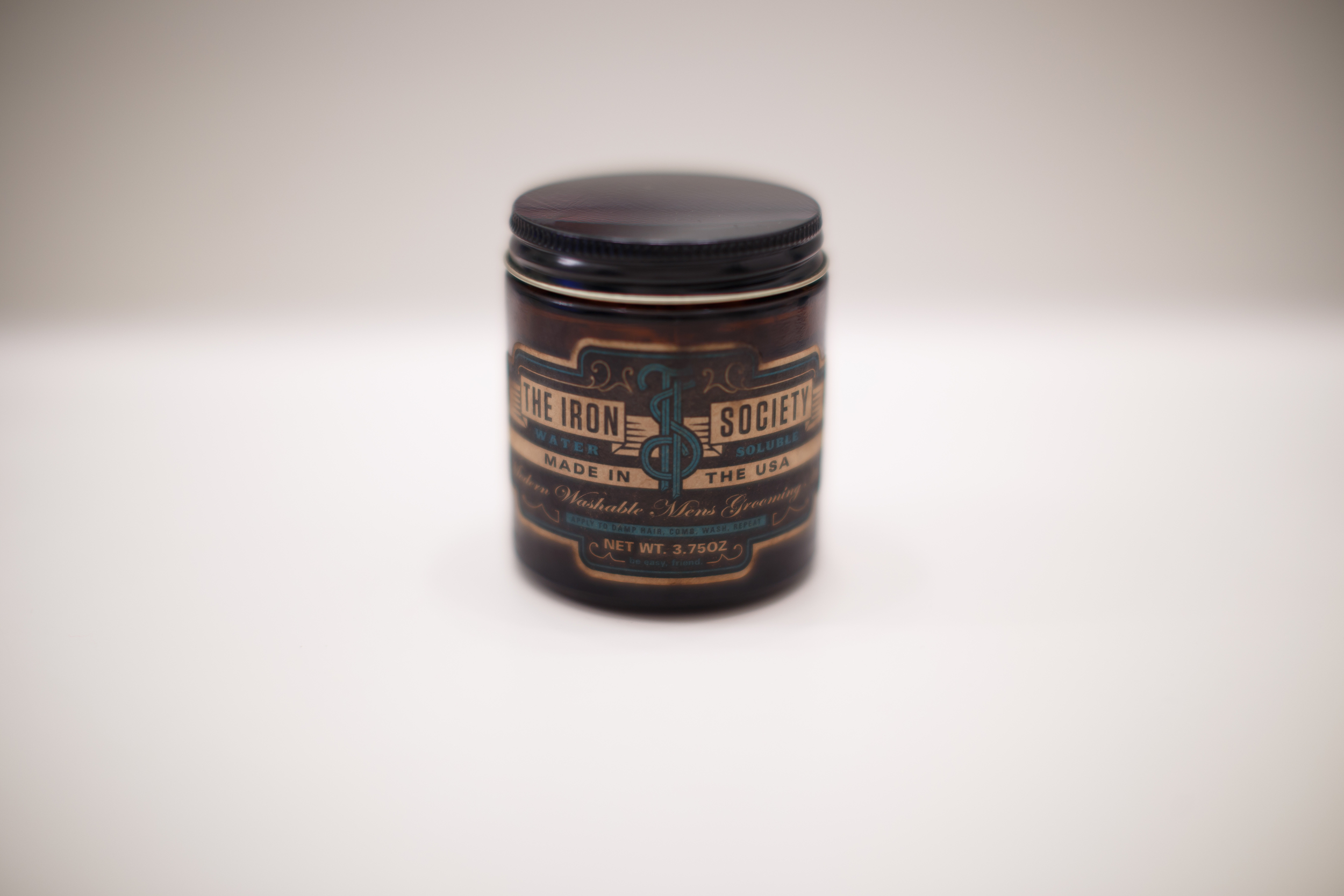 ThePomp Pomp Pomade Pompadour The Iron Society Water Soluble New York Jar