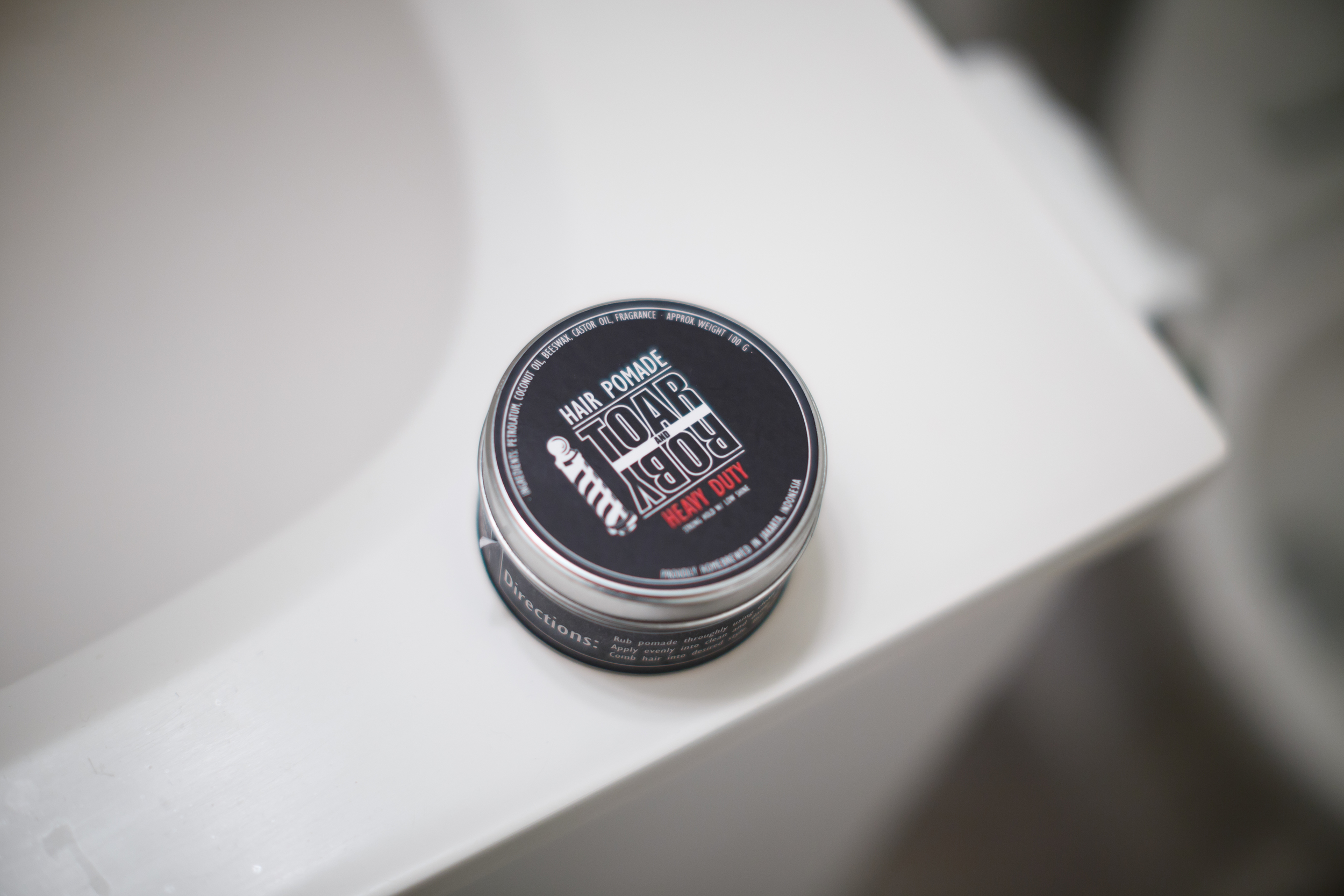 Toar and Roby Hair Pomade Heavy Hard Strong Firm Hold Indonesia Indonesian Pomp Pompadour