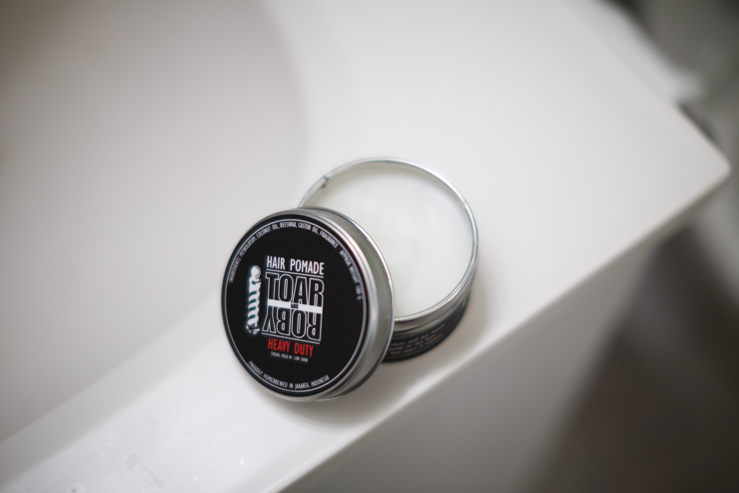 Toar and Roby Hair Pomade Heavy Hard Strong Firm Hold Pomp Pompadour Hair  Hairstyle Indonesia Indonesian