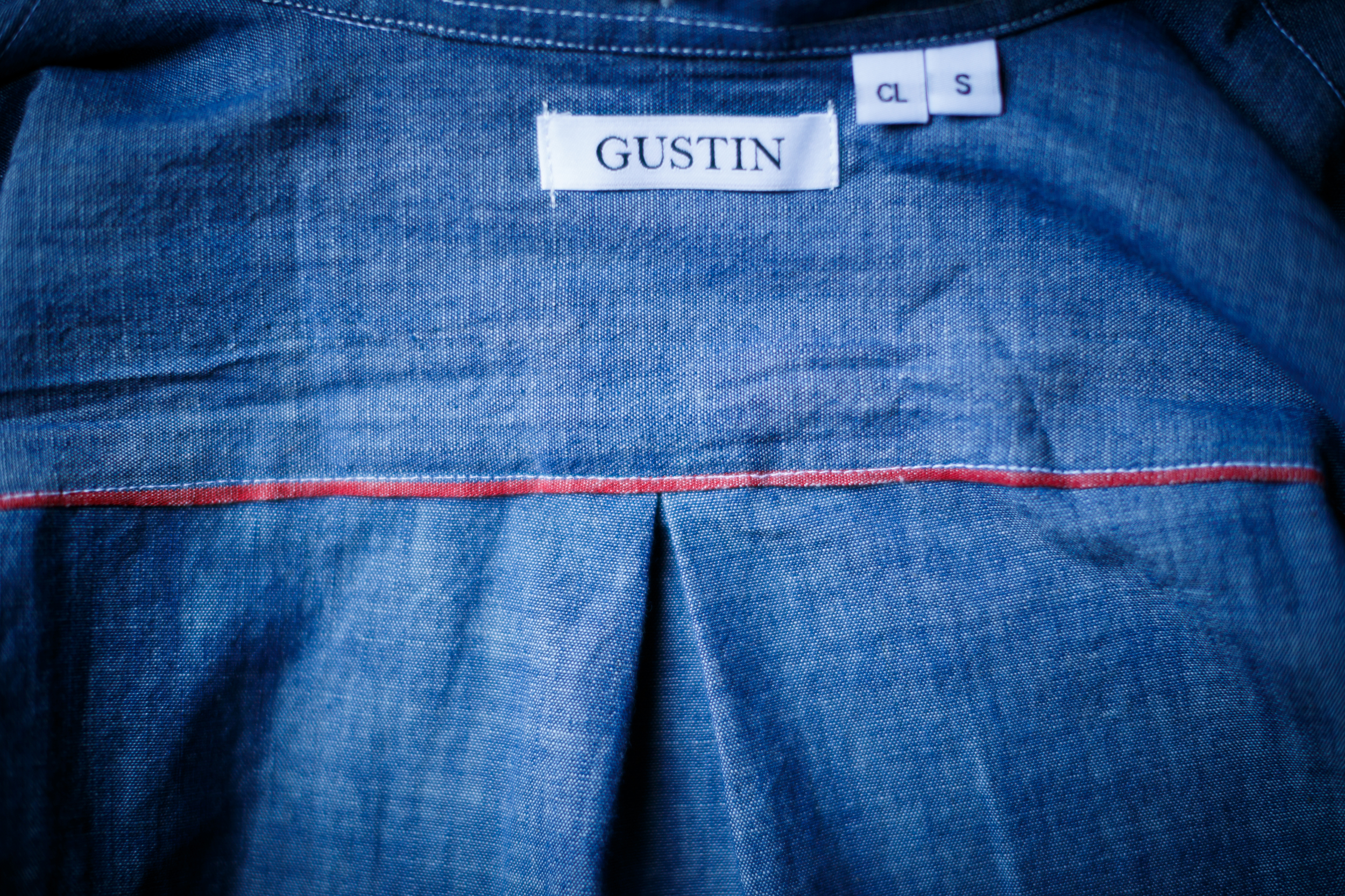 Gustin Indigo Plant-Dye Chambray Selvedge Shirt Japanese Japan Selvage Self Edge Denim Button Up Down San Francisco USA Made in US