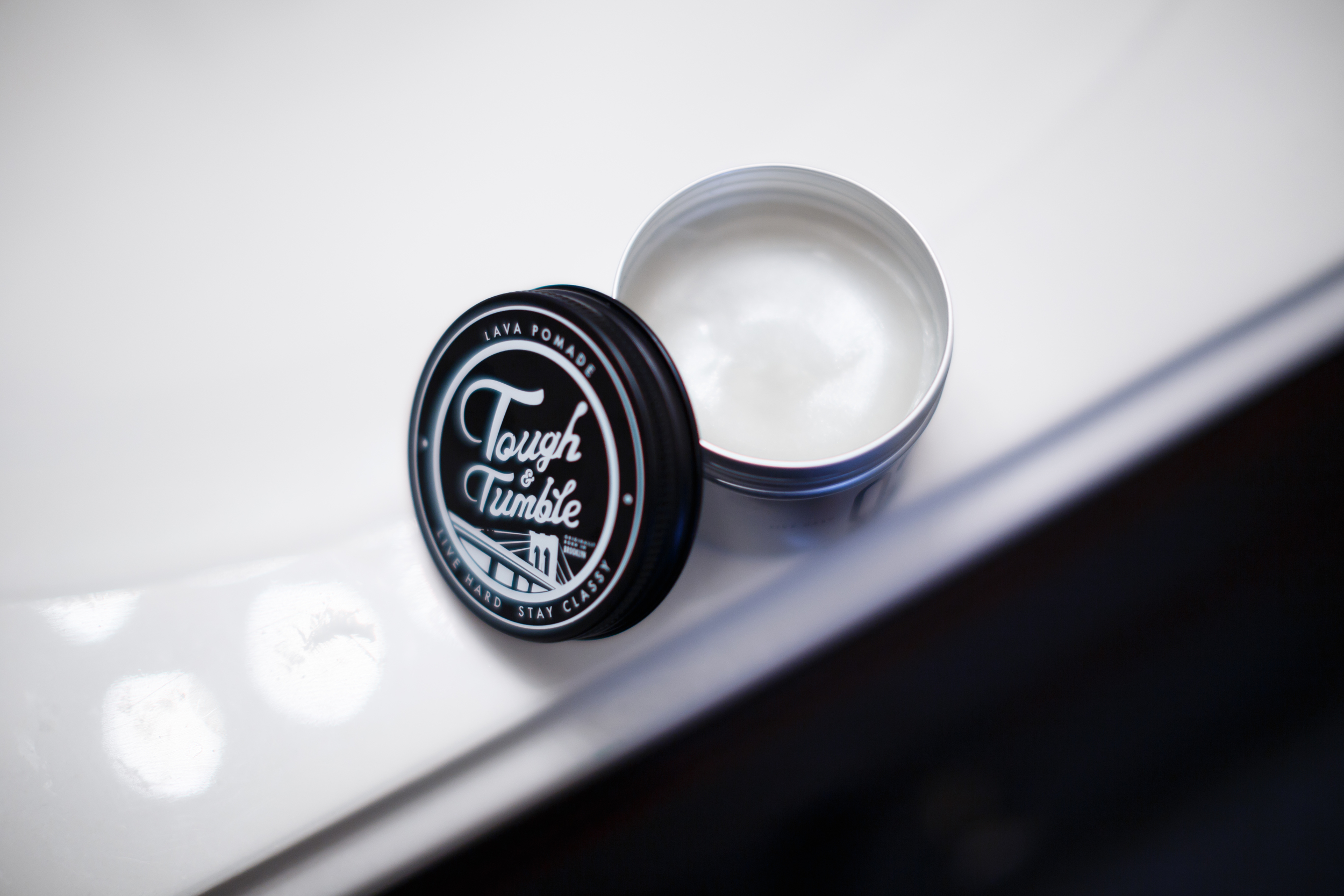 Tough & Tumble No.2 Solid & Shine Lava Pomade ThePomp Pomp Pompadour Product Review