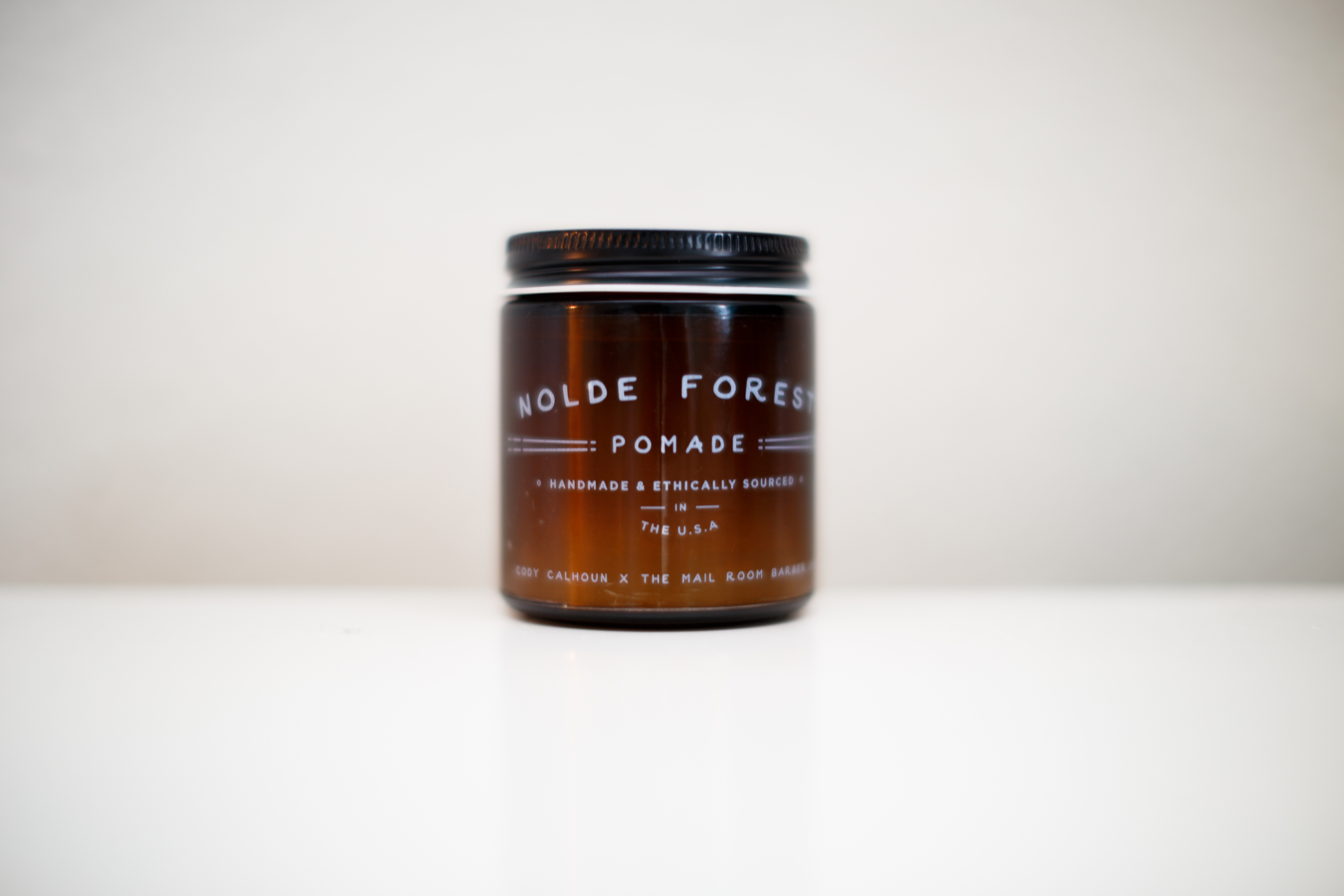 Best Smelling Pomade of 2015 -- The Mail Room Barber X Cody Calhoune Nolde Forest Pomade