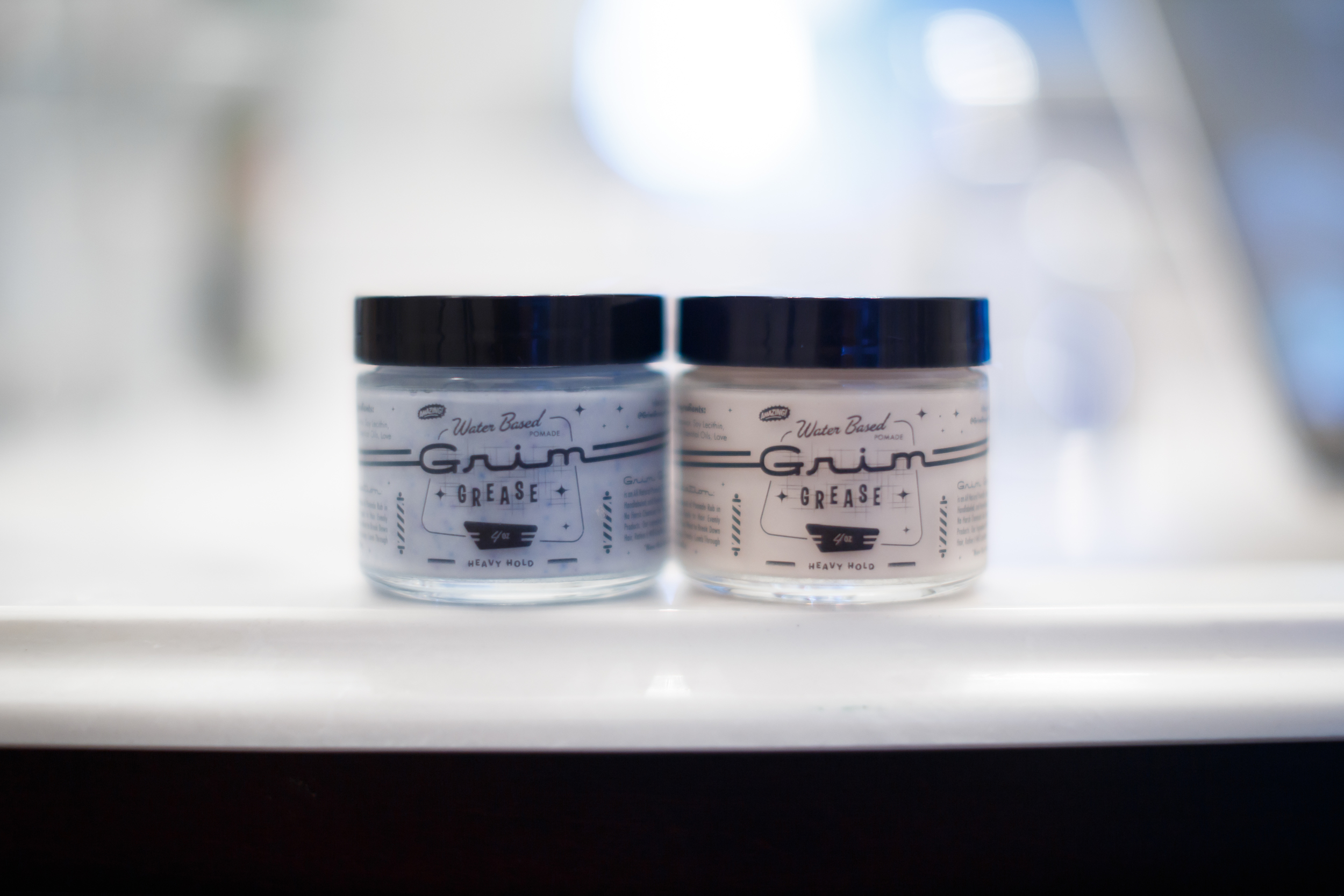 Grim Grease Water Based Heavy Hold The Pomp Pomade Pompadour Review