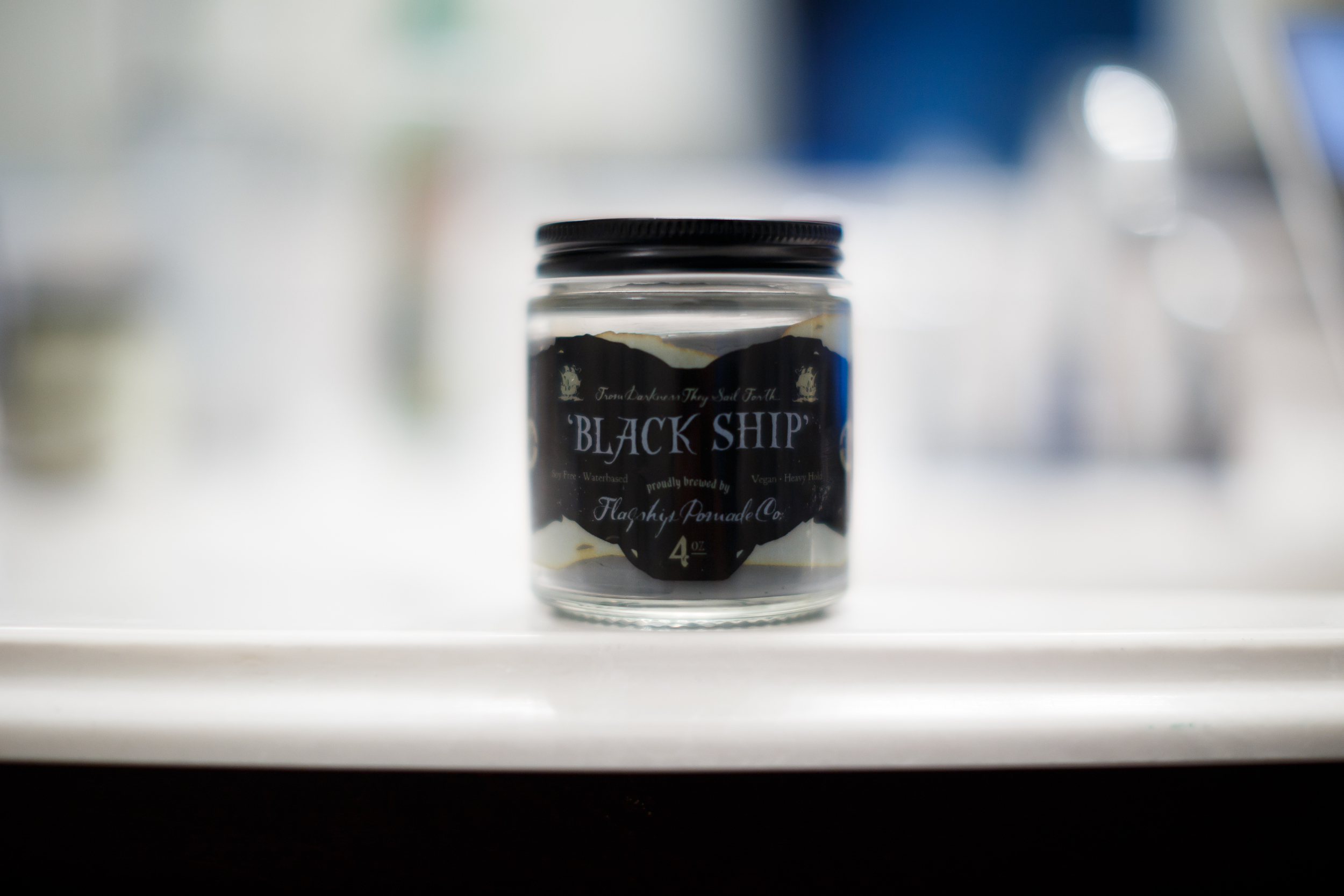 Flagship Black Ship Pomade Review by The Pomp TYBP Thank You Based Pomp ThePomp Pompadour