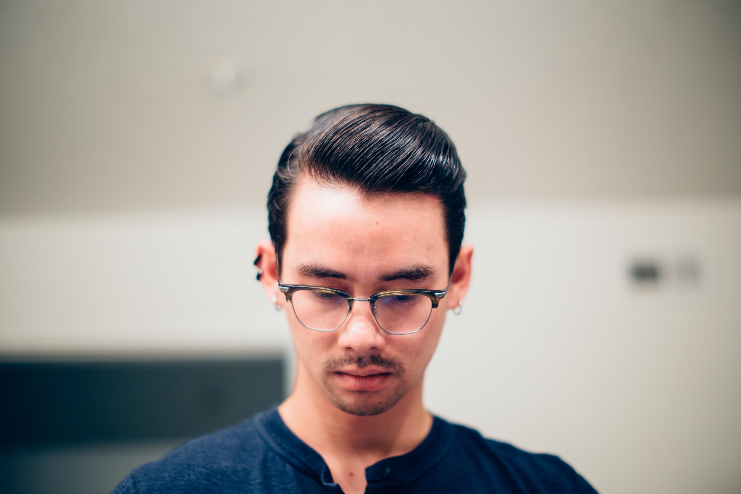 David Elliot Pomade - Hairstyle
