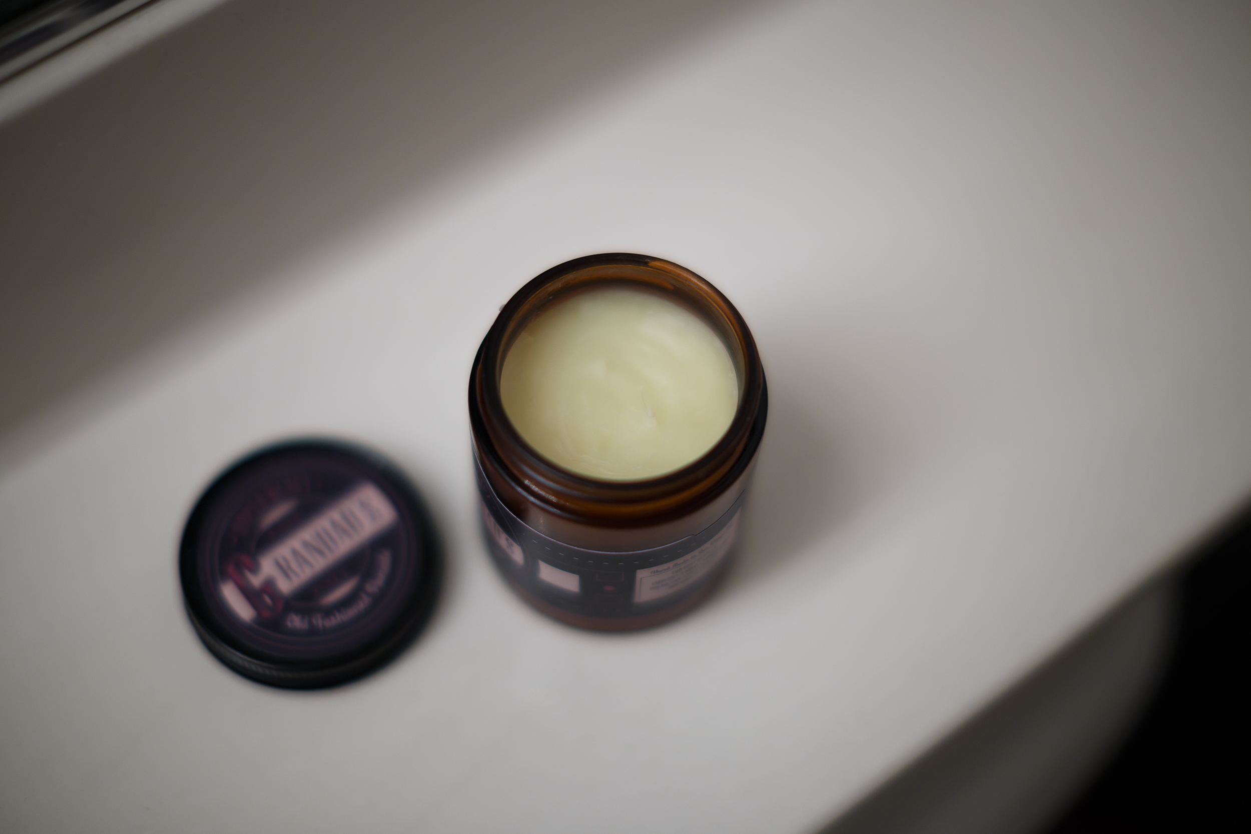 Grandad's Super Heavy Pomade The Pomp Review Example Product