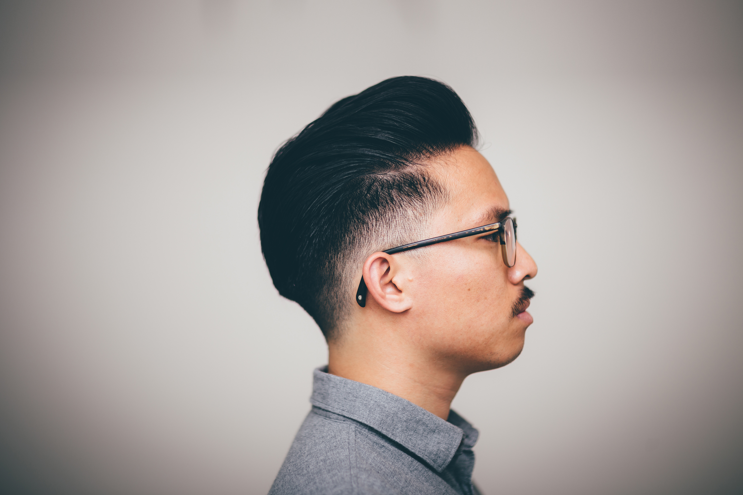 The Pomp's New Haircut -- Low Drop Fade Pompadour