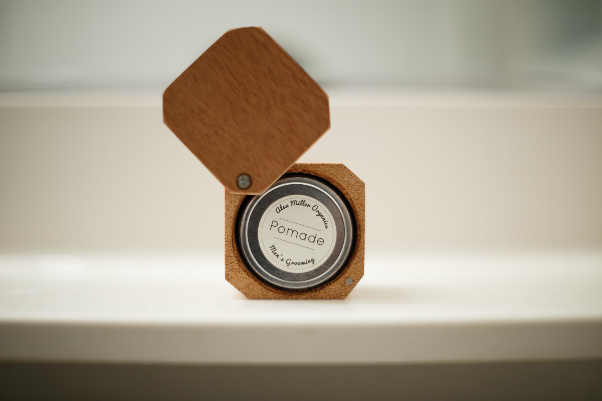 Alex Miller Organics Pomade Review by The Pomp | TYBP Hair Product Texture Salt Sand Clay Dead Sea Saphira